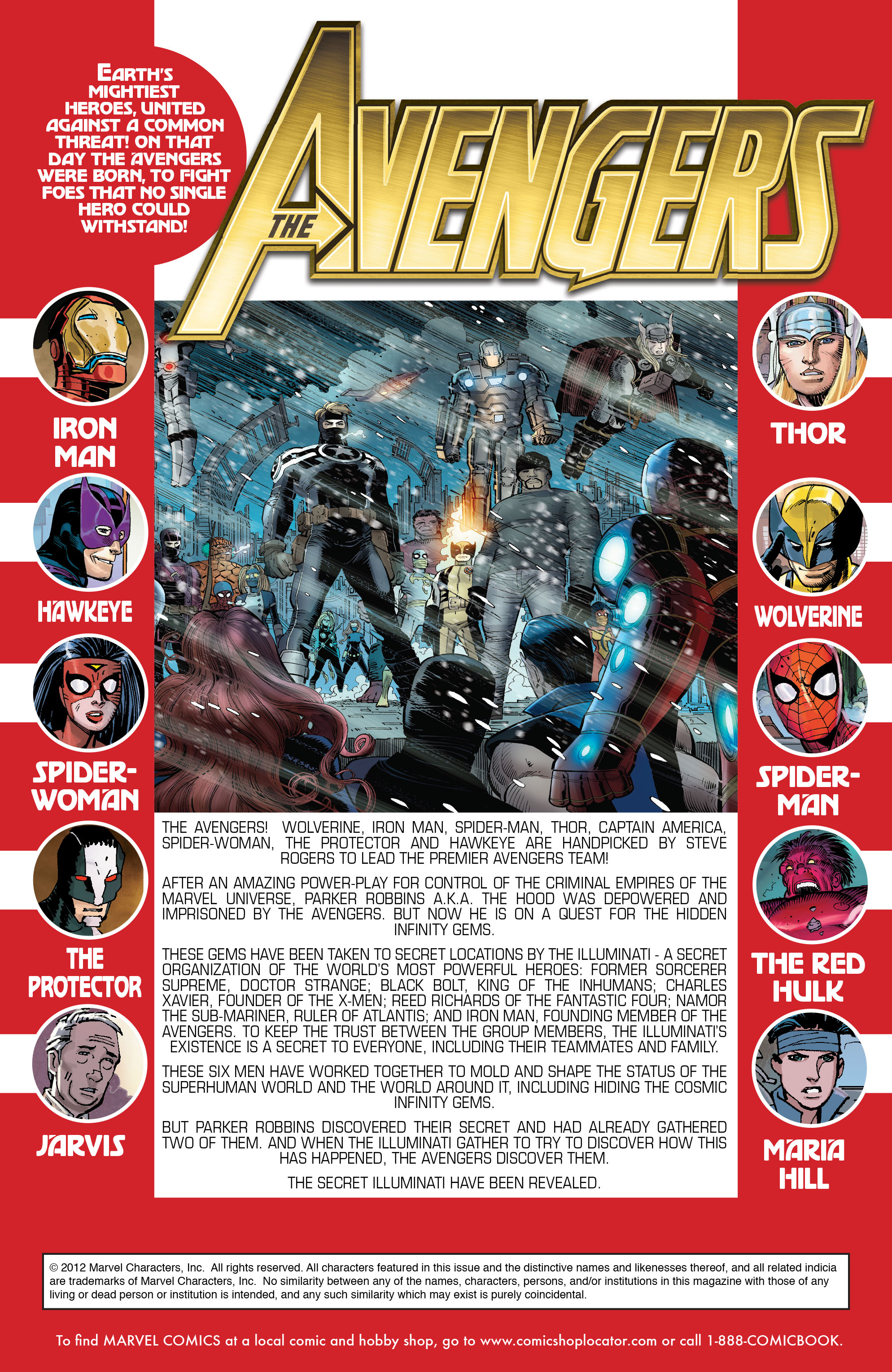 Read online Avengers (2010) comic -  Issue #9 - 2