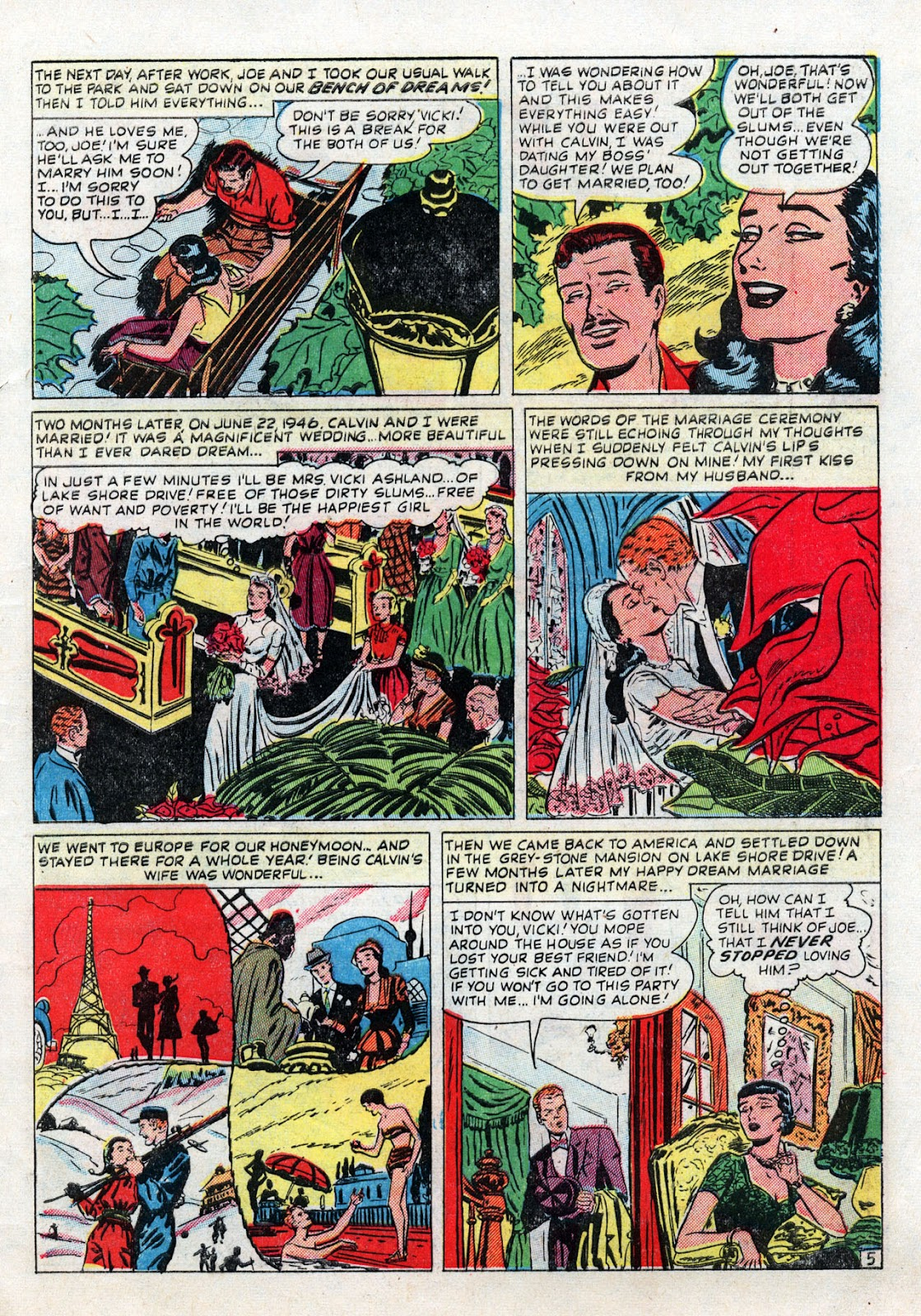 Love Romances (1949) issue 19 - Page 7