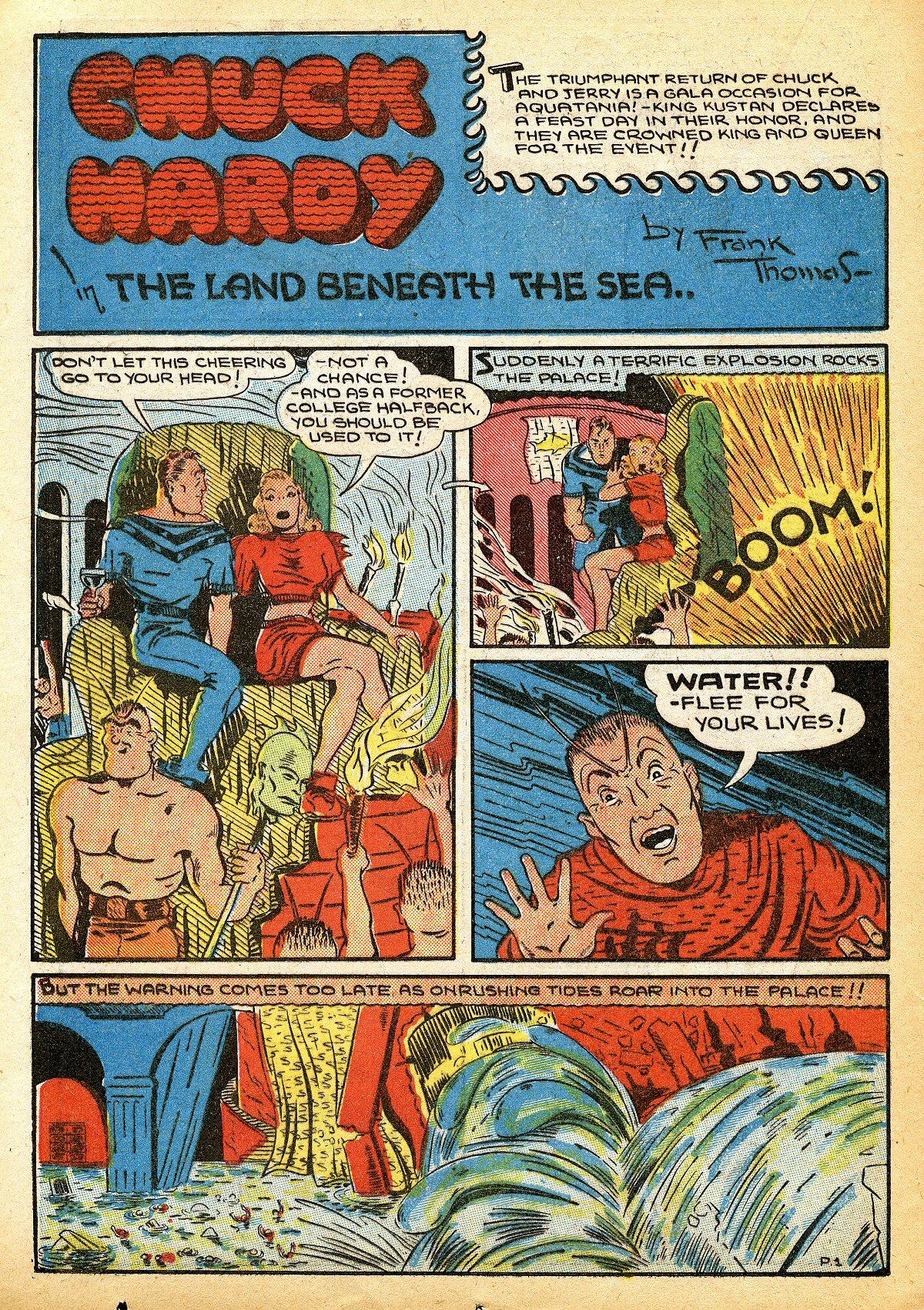 Read online Amazing Man Comics comic -  Issue #10 - 45