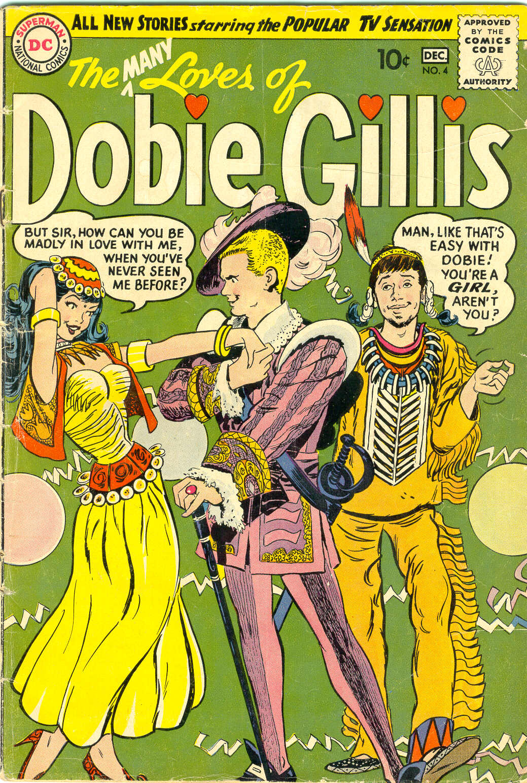 Many Loves of Dobie Gillis issue 4 - Page 1