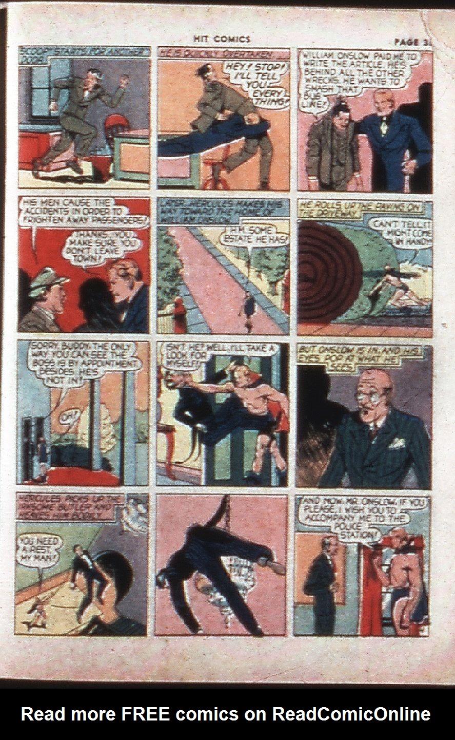 Read online Hit Comics comic -  Issue #4 - 37