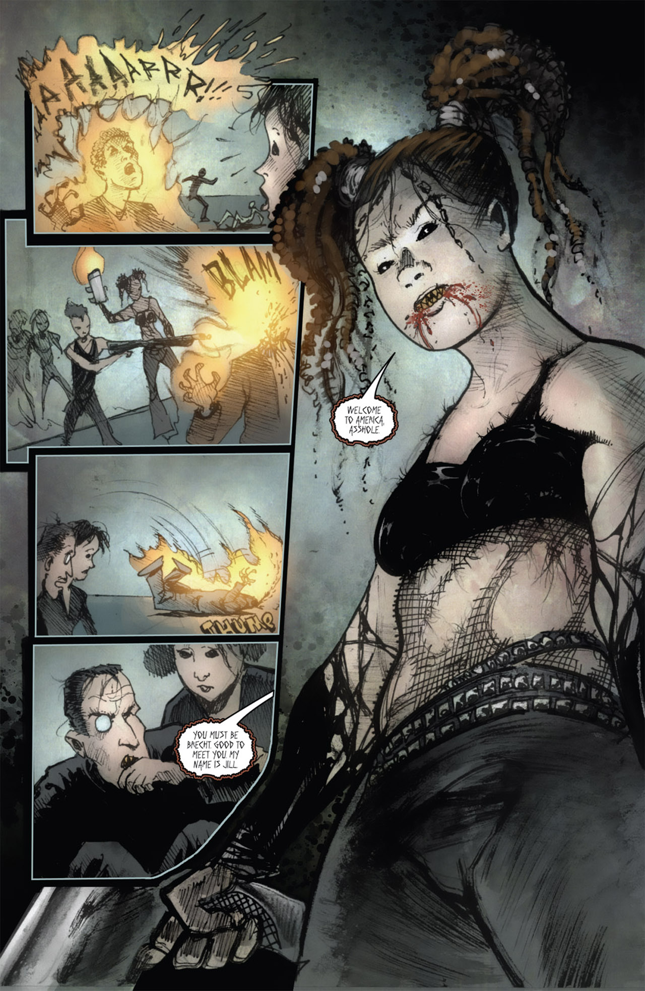 Read online 30 Days of Night (2011) comic -  Issue #1 - 11