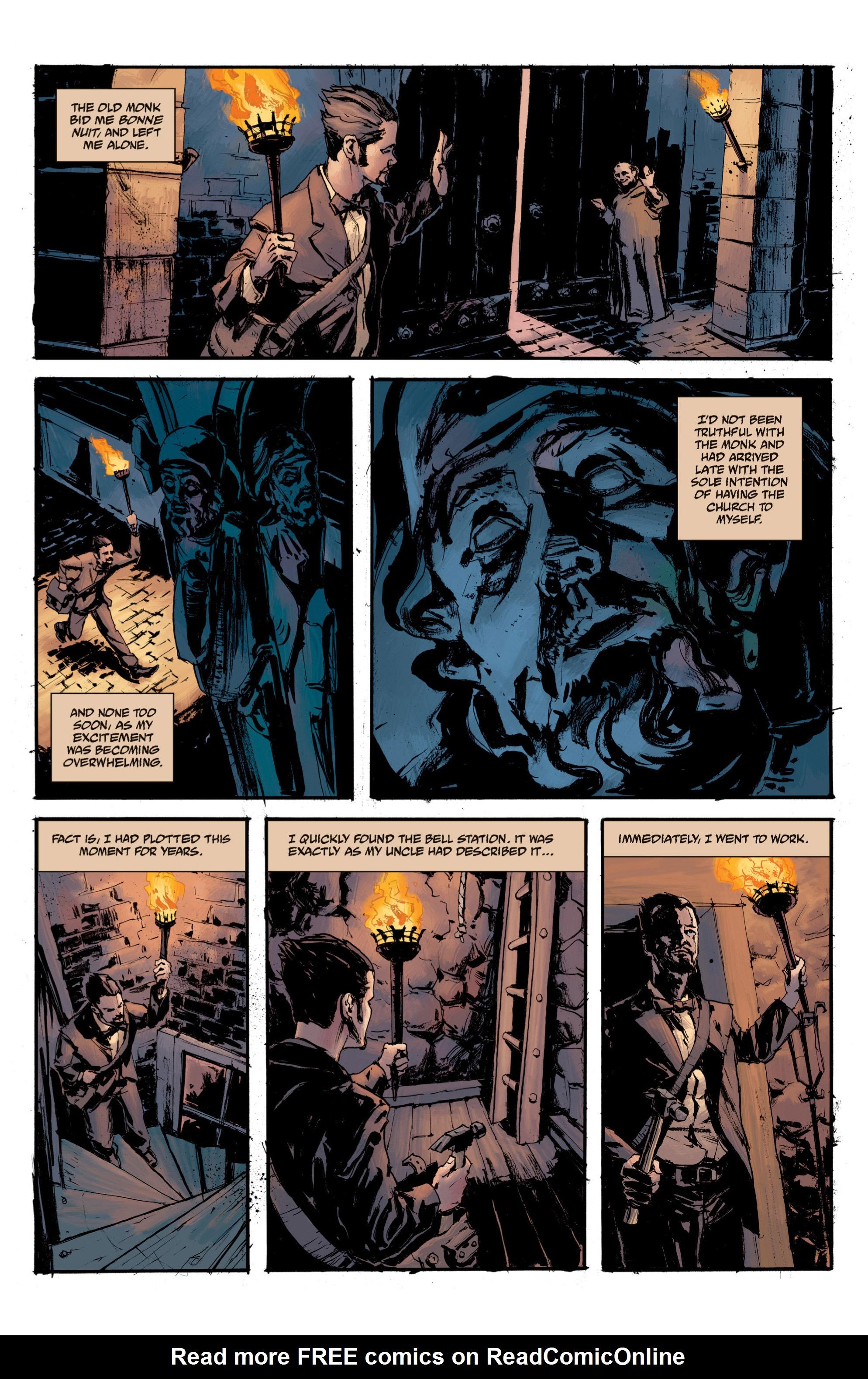 Read online B.P.R.D. (2003) comic -  Issue # TPB 13 - 139