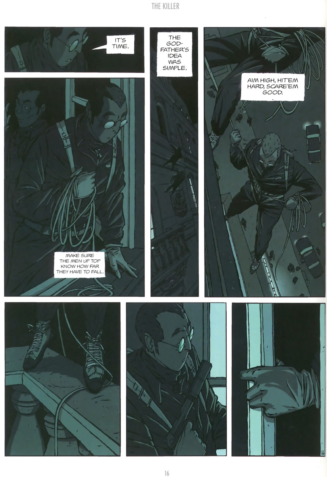 Read online The Killer comic -  Issue #5 - 18