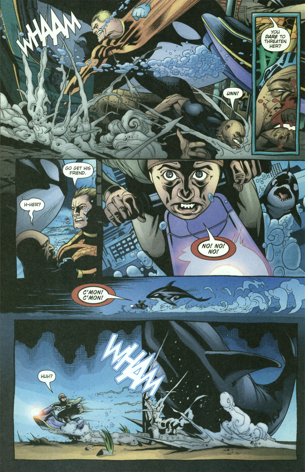 Read online Aquaman (2003) comic -  Issue #21 - 16