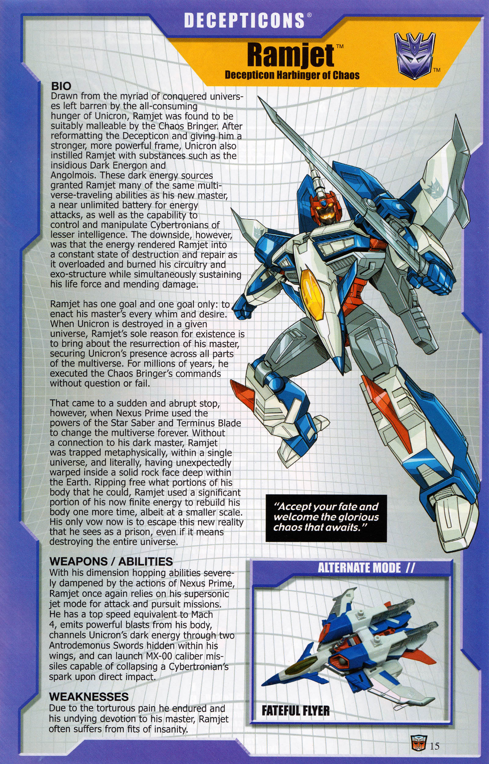 Read online Transformers: Collectors' Club comic -  Issue #67 - 15