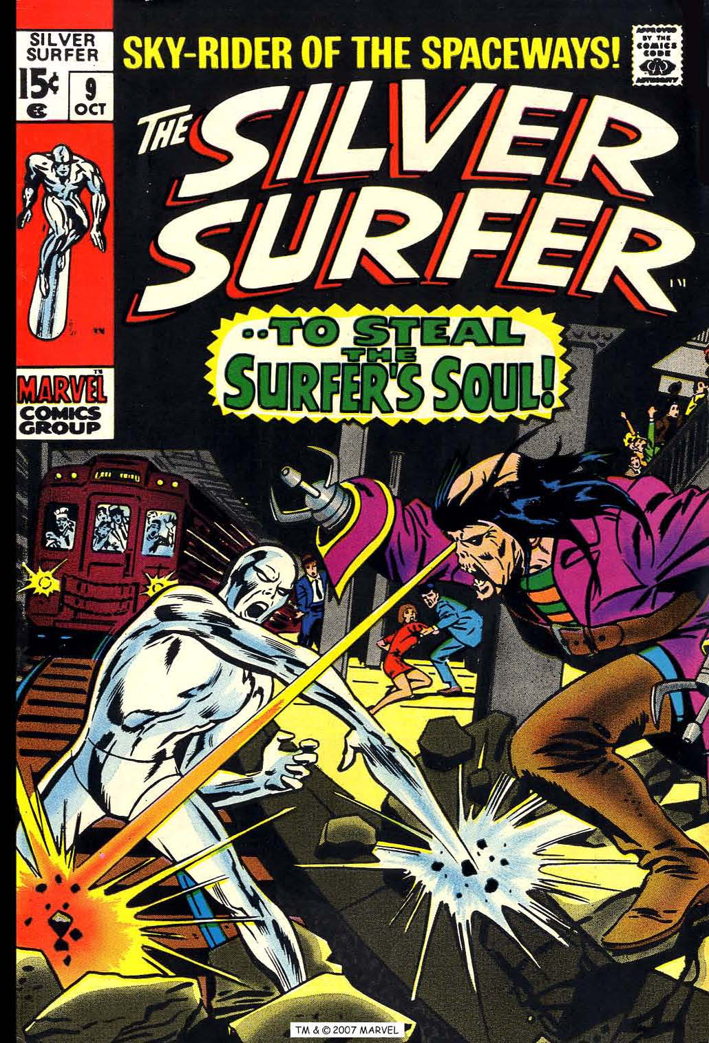 Silver Surfer (1968) Issue #9 #9 - English 1