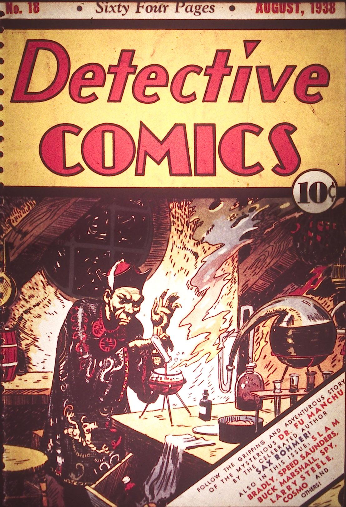 Read online Detective Comics (1937) comic -  Issue #18 - 1