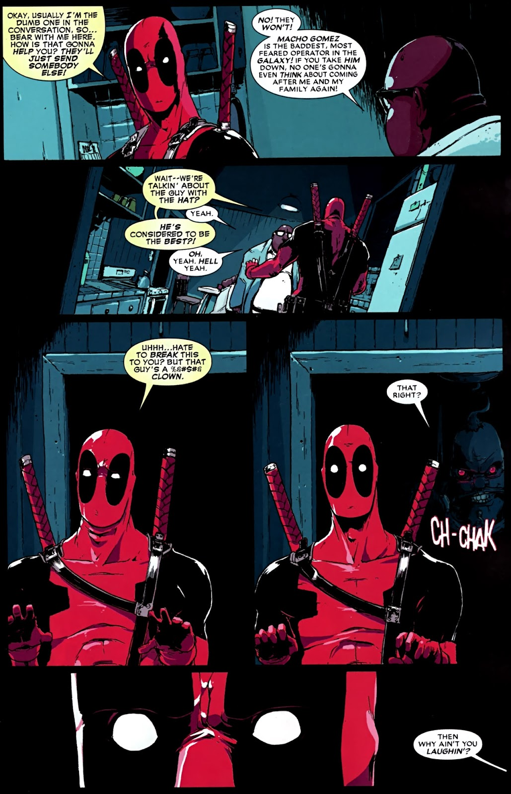 Read online Deadpool (2008) comic -  Issue #32 - 13