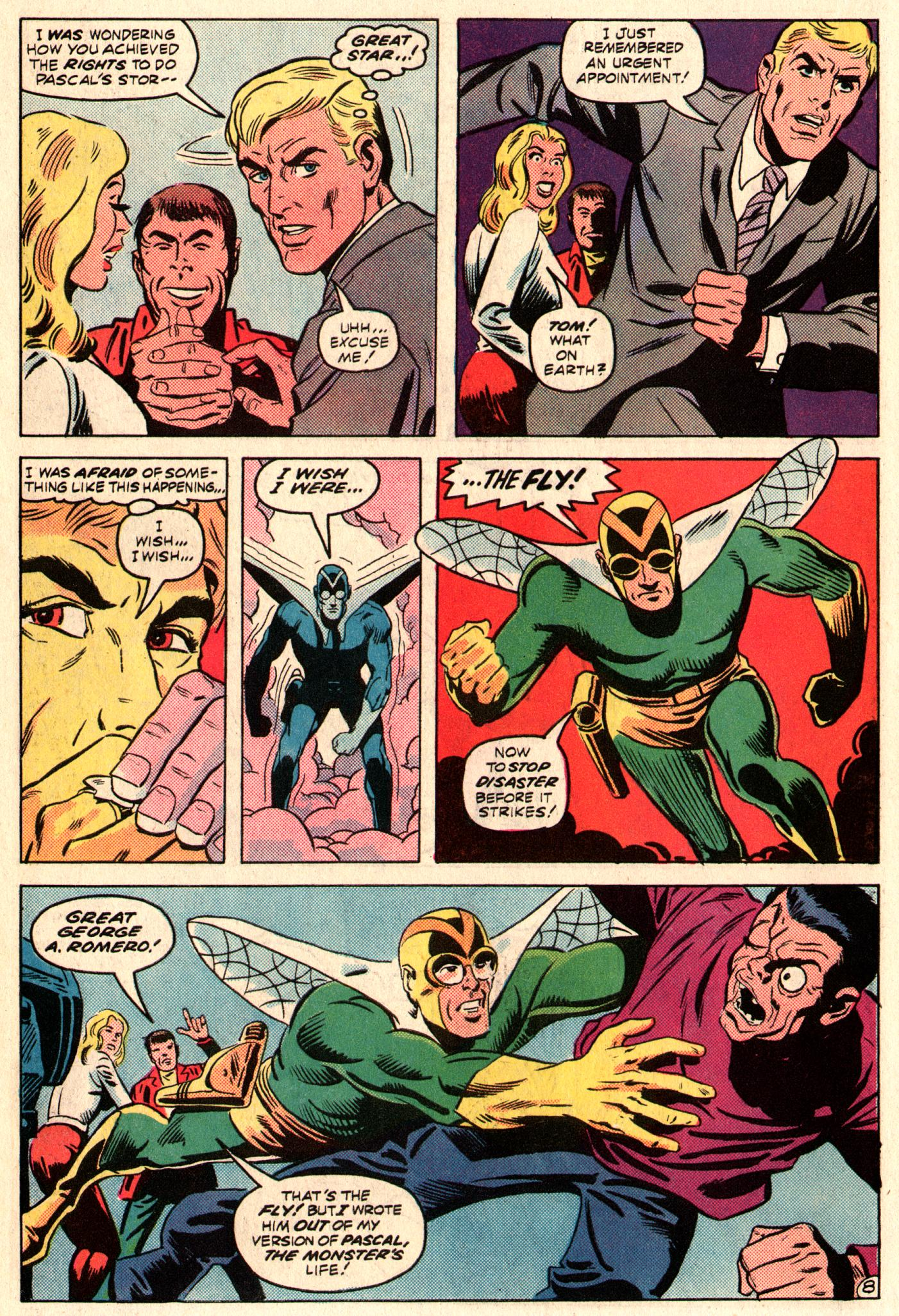 Read online The Fly (1983) comic -  Issue #3 - 9