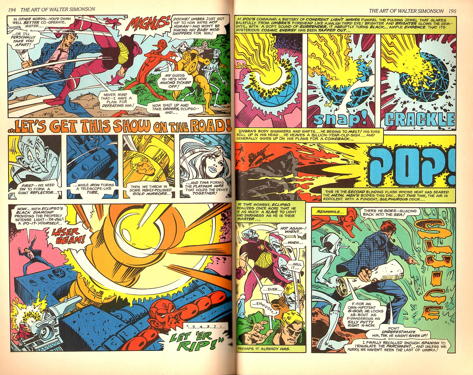 Read online The Art of Walter Simonson comic -  Issue # TPB - 99