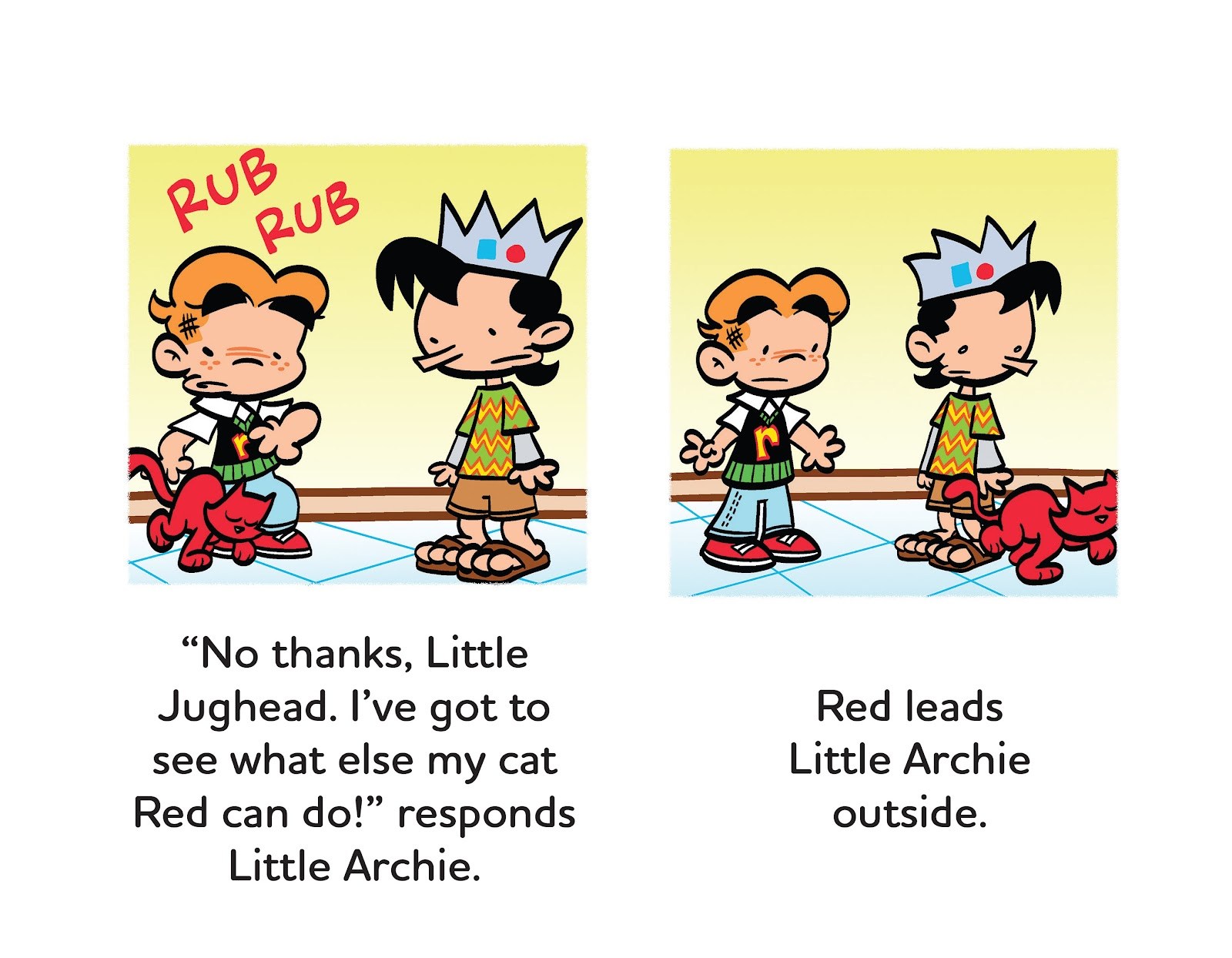 Read online Little Archie's Lucky Day comic -  Issue # Full - 19