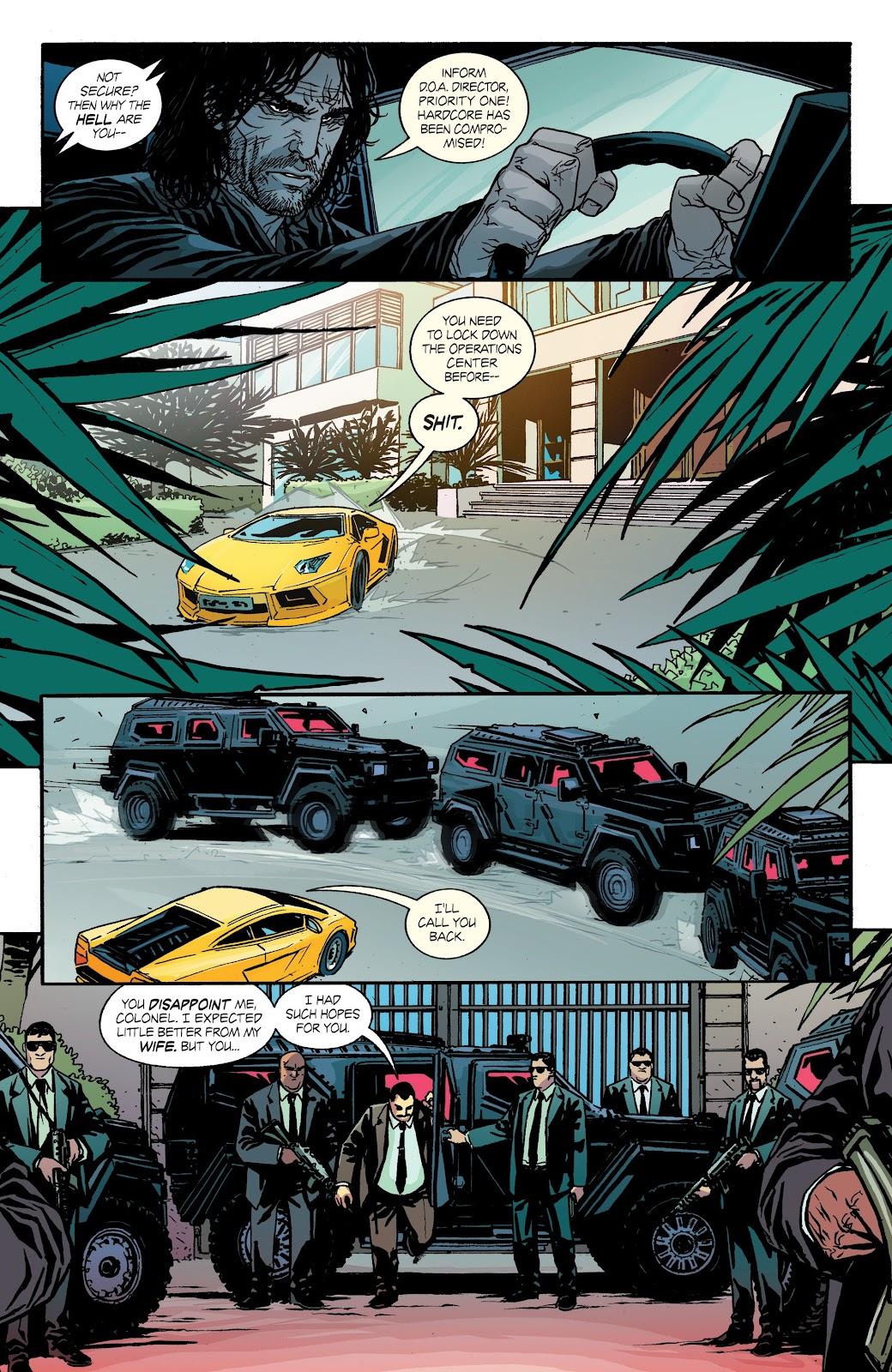 Read online Hardcore comic -  Issue #2 - 8