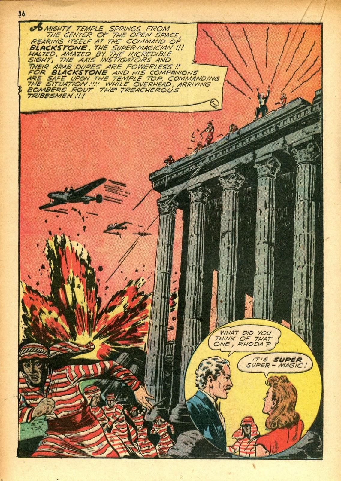 Read online Super-Magician Comics comic -  Issue #12 - 36