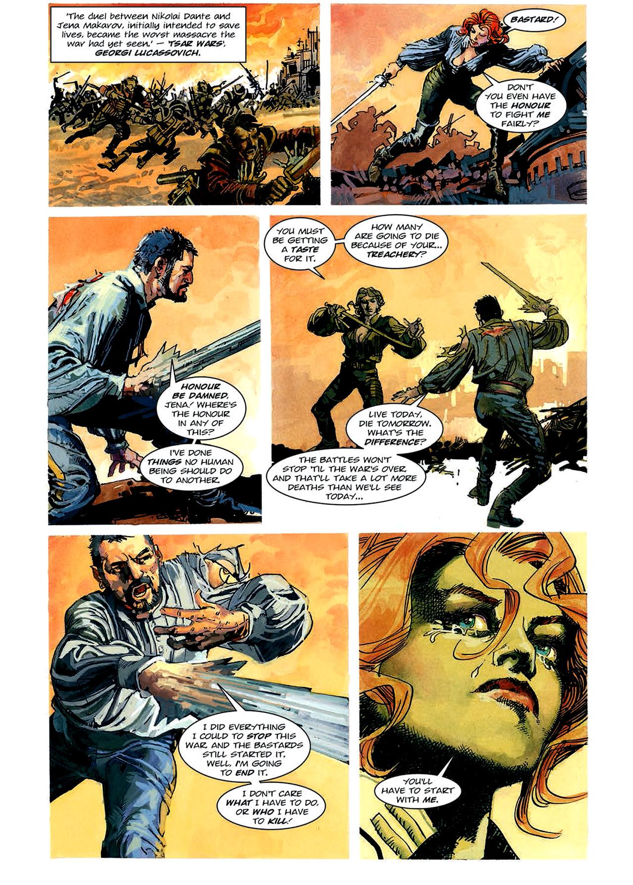 Read online Nikolai Dante comic -  Issue # TPB 4 - 96