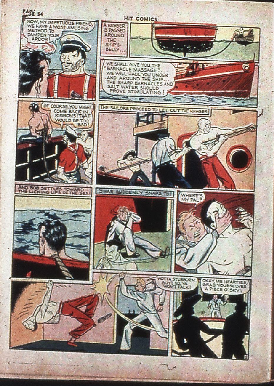 Read online Hit Comics comic -  Issue #4 - 56