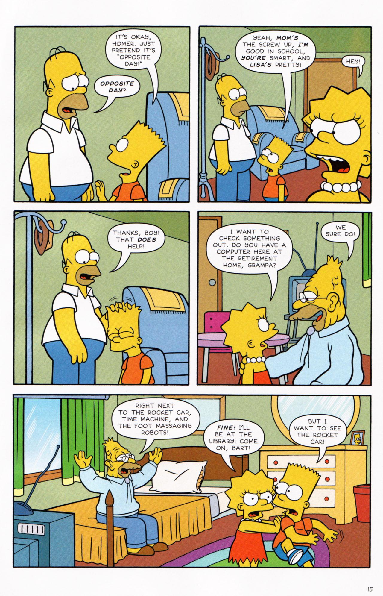 Read online Simpsons Comics comic -  Issue #130 - 13