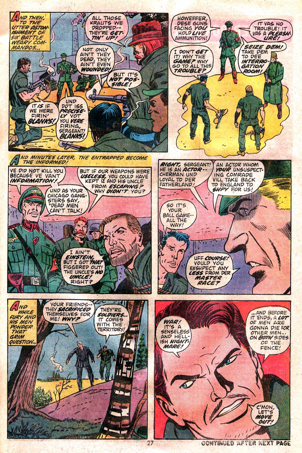 Read online Sgt. Fury comic -  Issue #120 - 29
