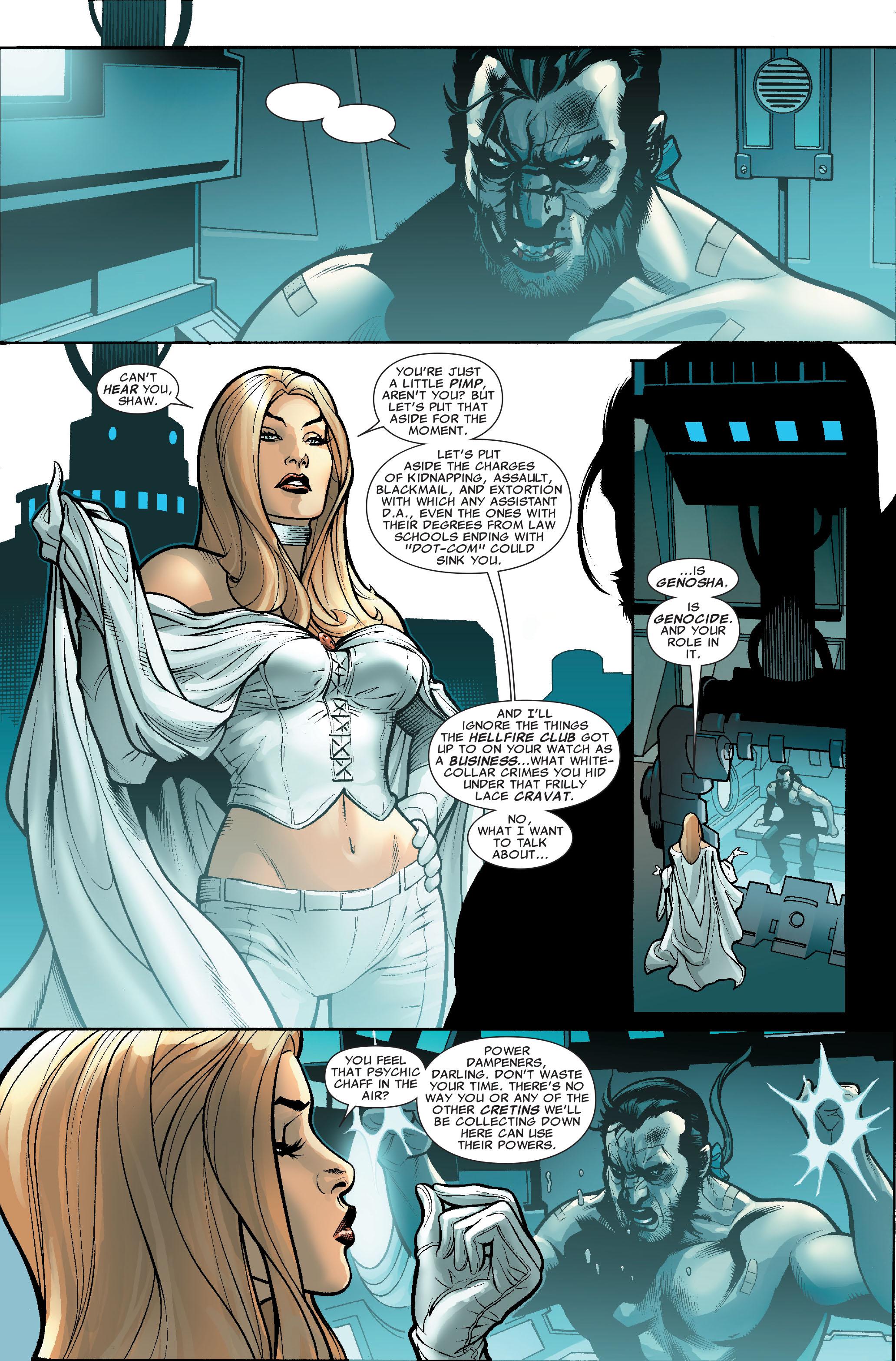 Read online Uncanny X-Men (1963) comic -  Issue #507 - 22