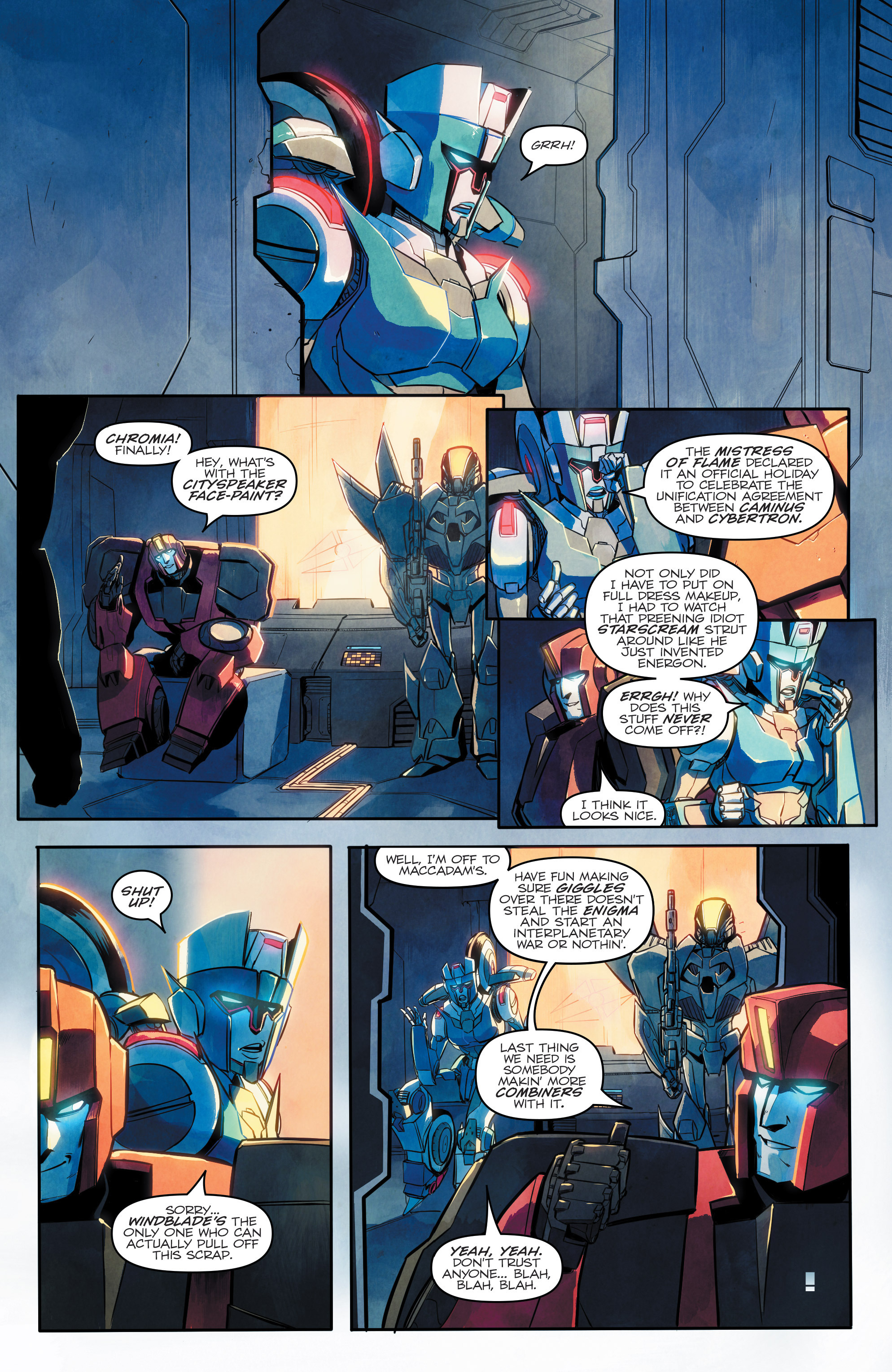 Read online Transformers: Combiner Hunters comic -  Issue # Full - 5