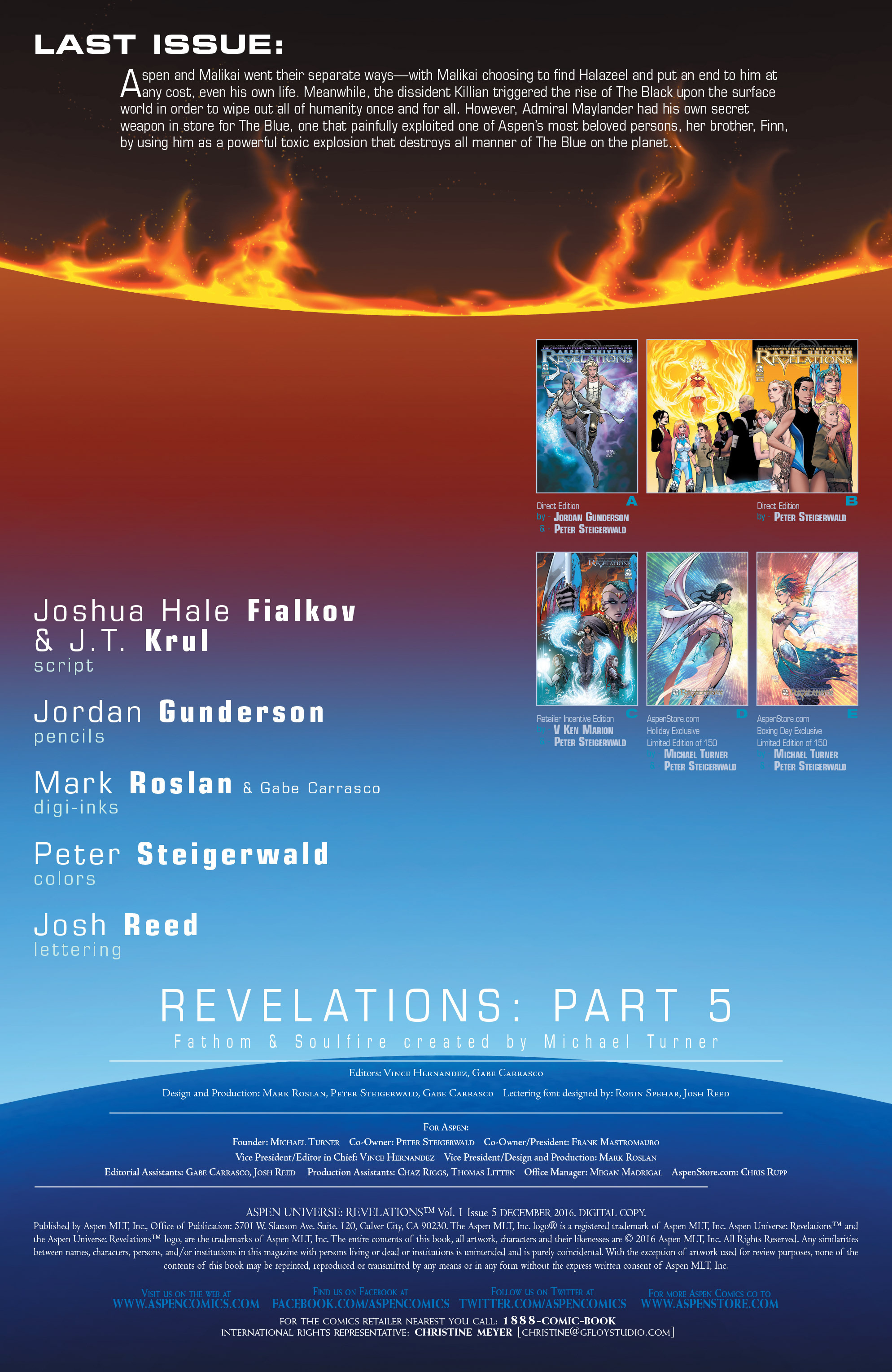 Read online Aspen Universe: Revelations comic -  Issue #5 - 3