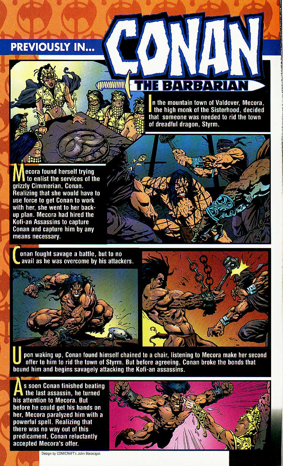 Read online Conan: Return of Styrm comic -  Issue #2 - 3
