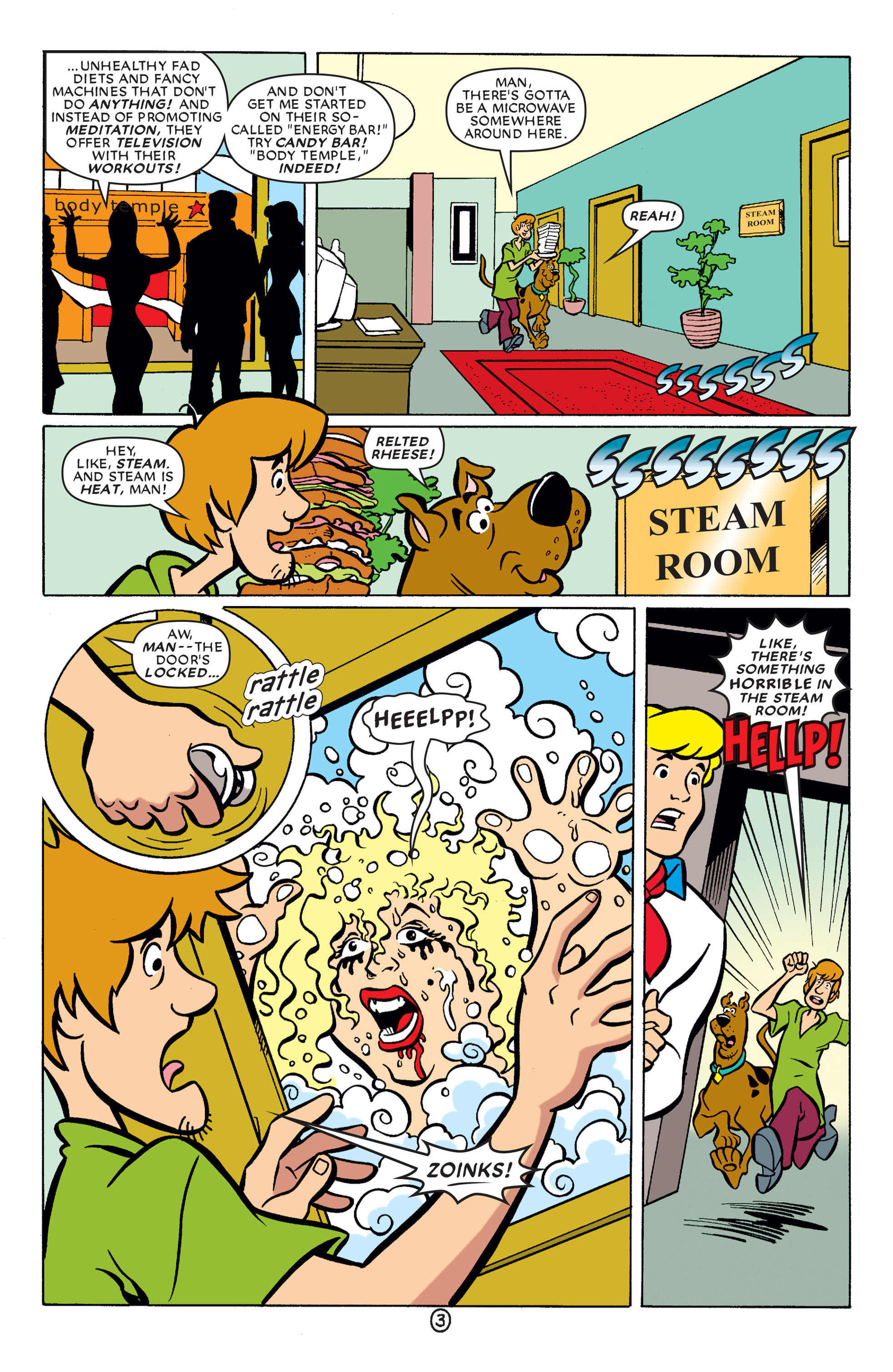 Read online Scooby-Doo (1997) comic -  Issue #64 - 4