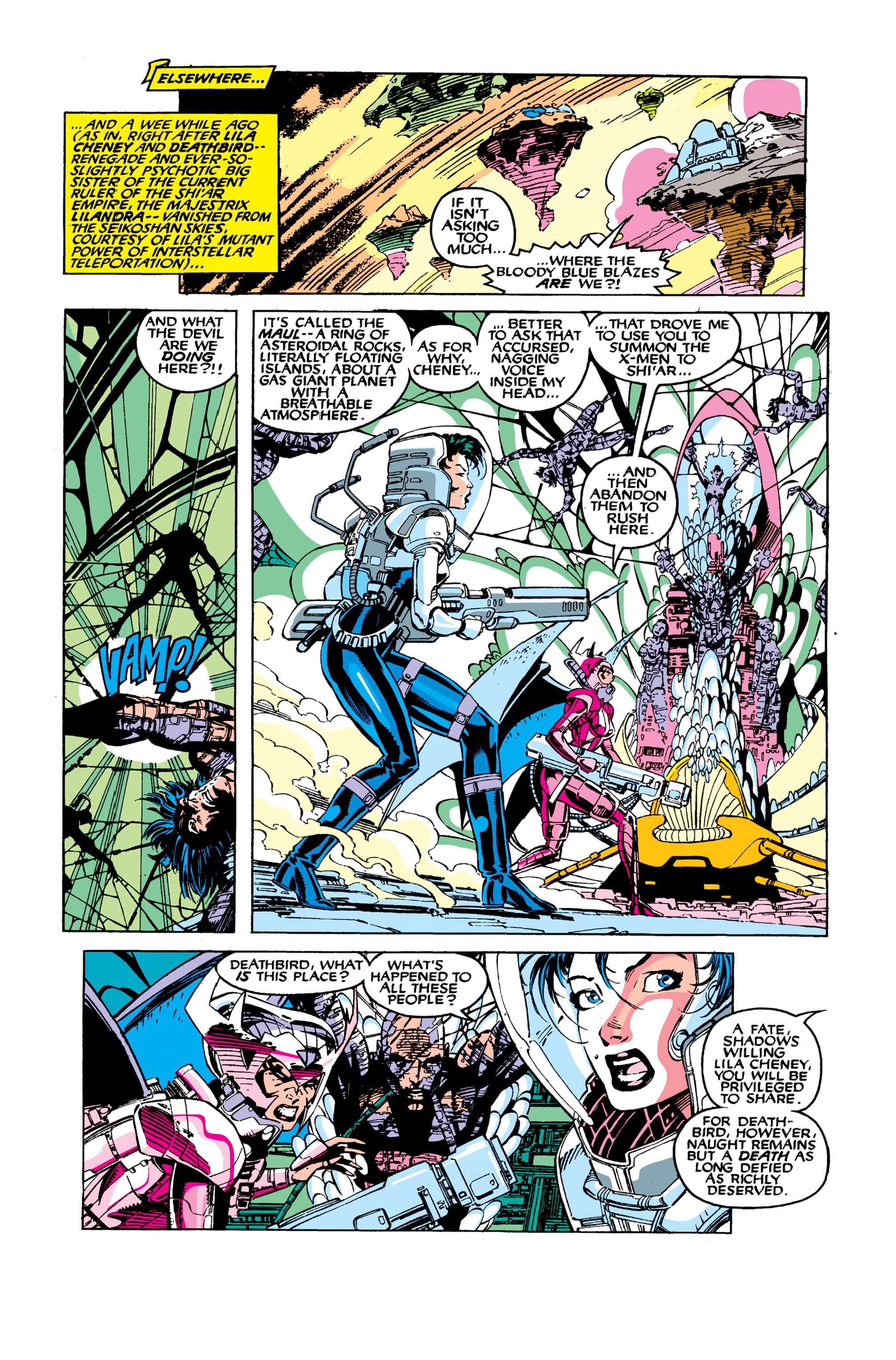 Read online Uncanny X-Men (1963) comic -  Issue #277 - 10