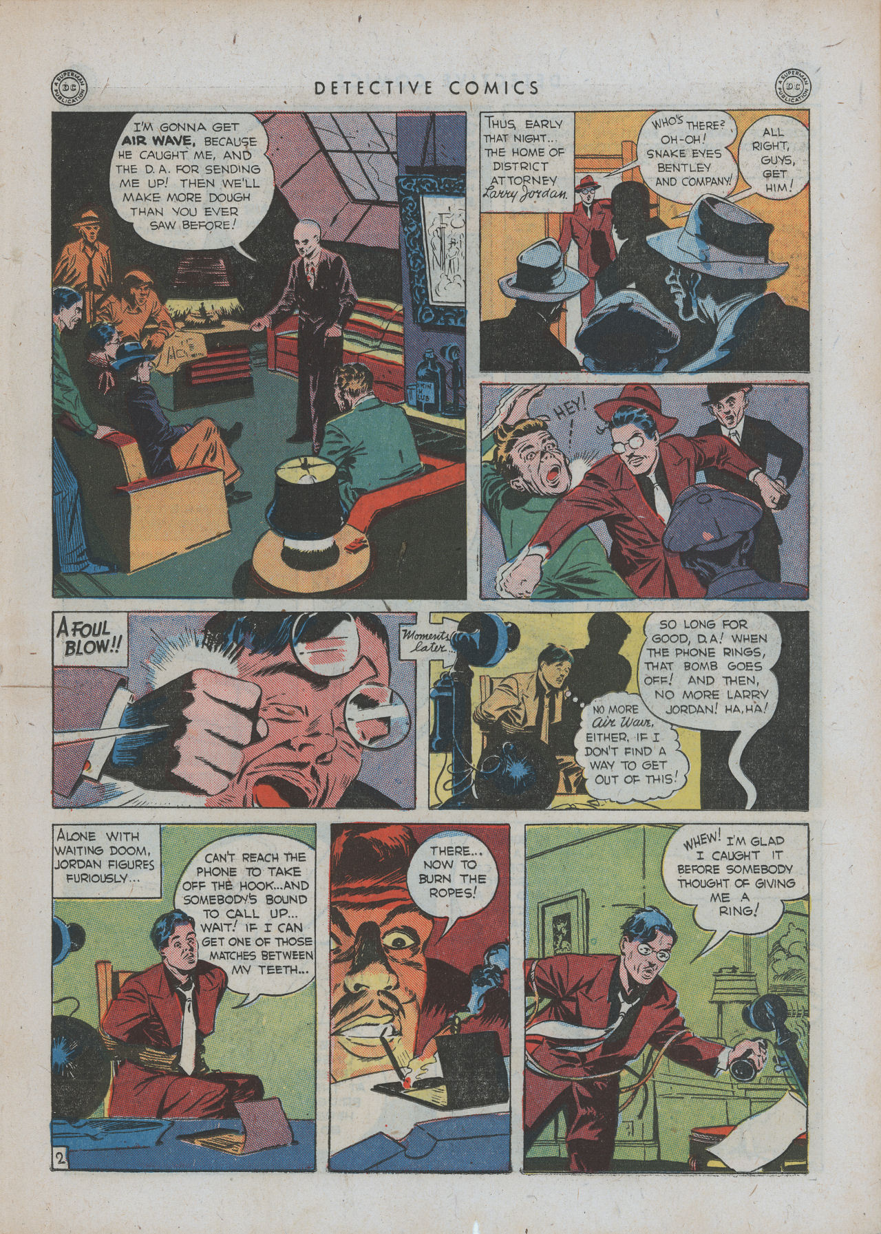 Read online Detective Comics (1937) comic -  Issue #88 - 19