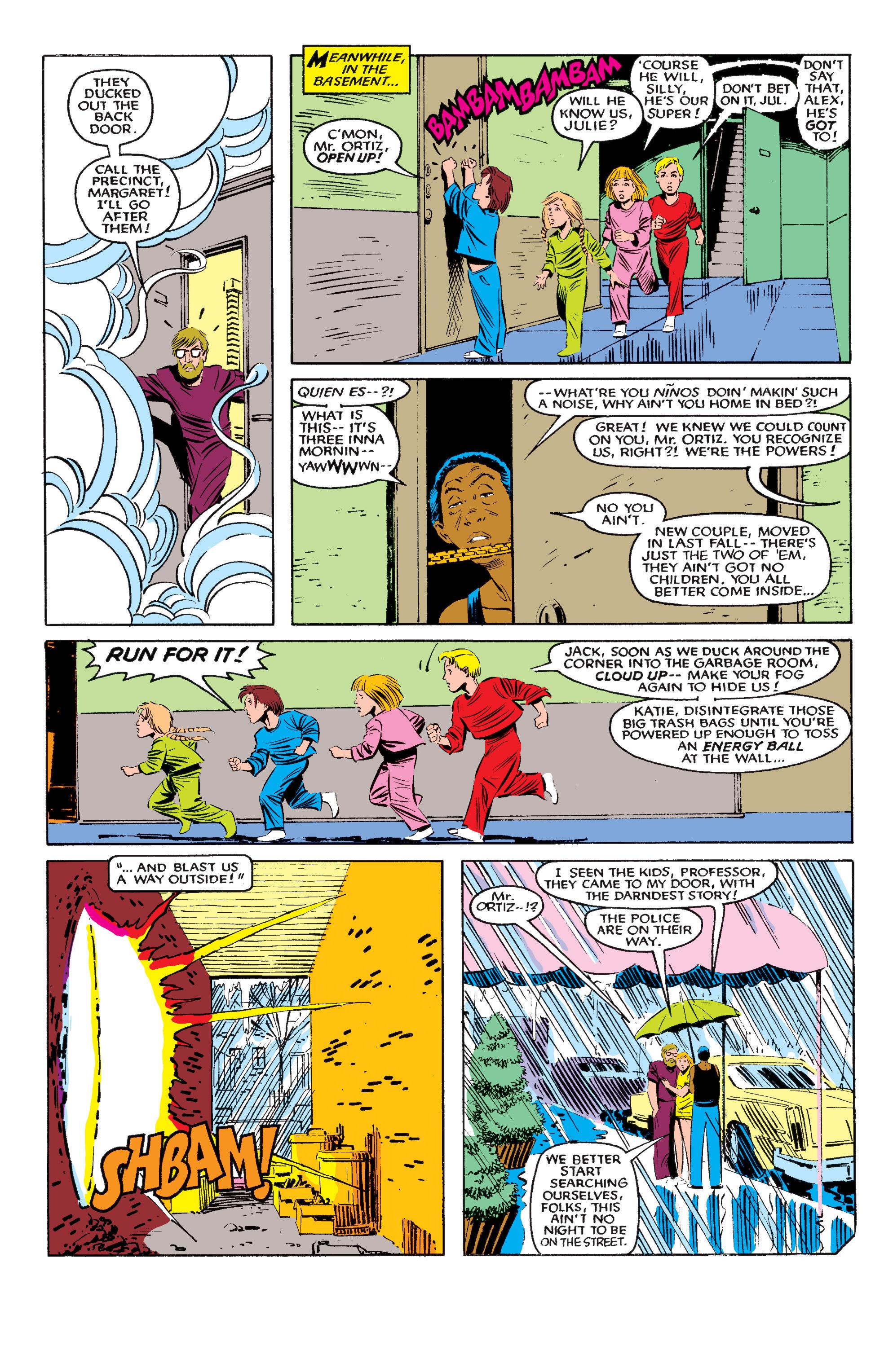 Read online Uncanny X-Men (1963) comic -  Issue #195 - 6