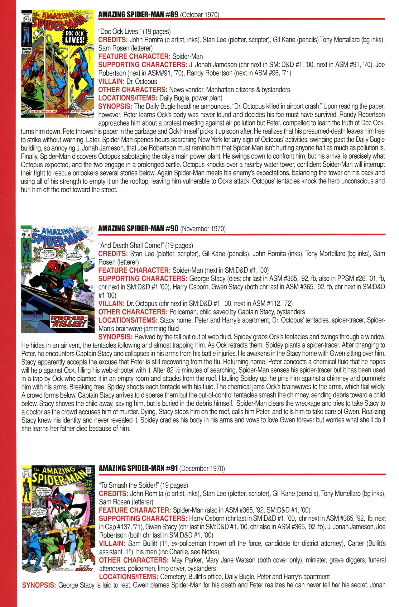 Read online Official Index to the Marvel Universe comic -  Issue #2 - 18