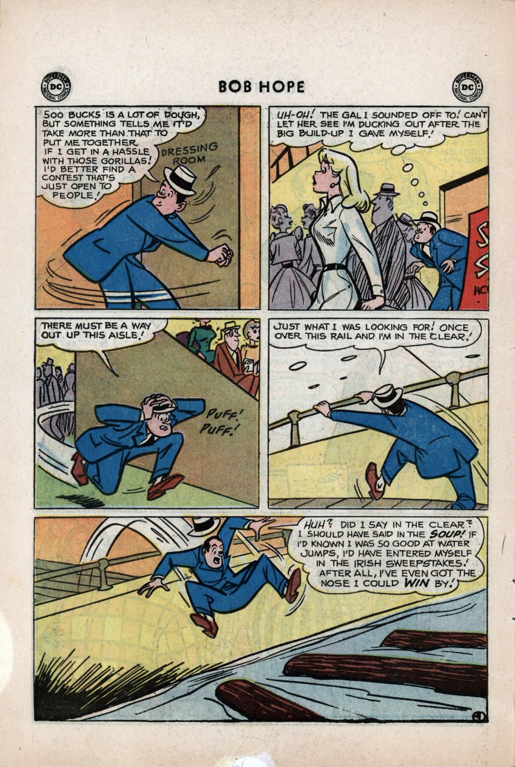 The Adventures of Bob Hope issue 59 - Page 6