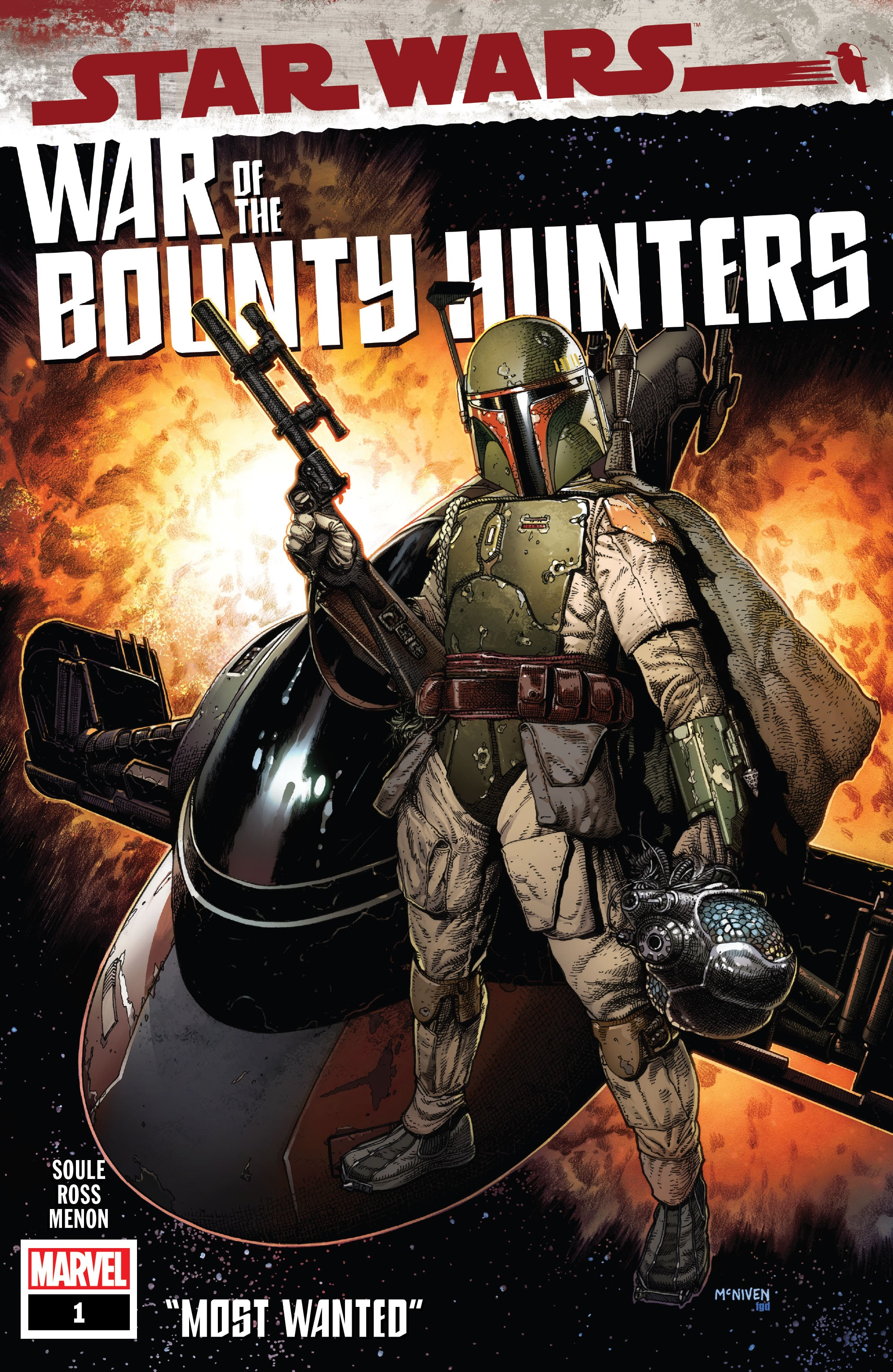 Star Wars: War of the Bounty Hunters issue 1 - Page 1
