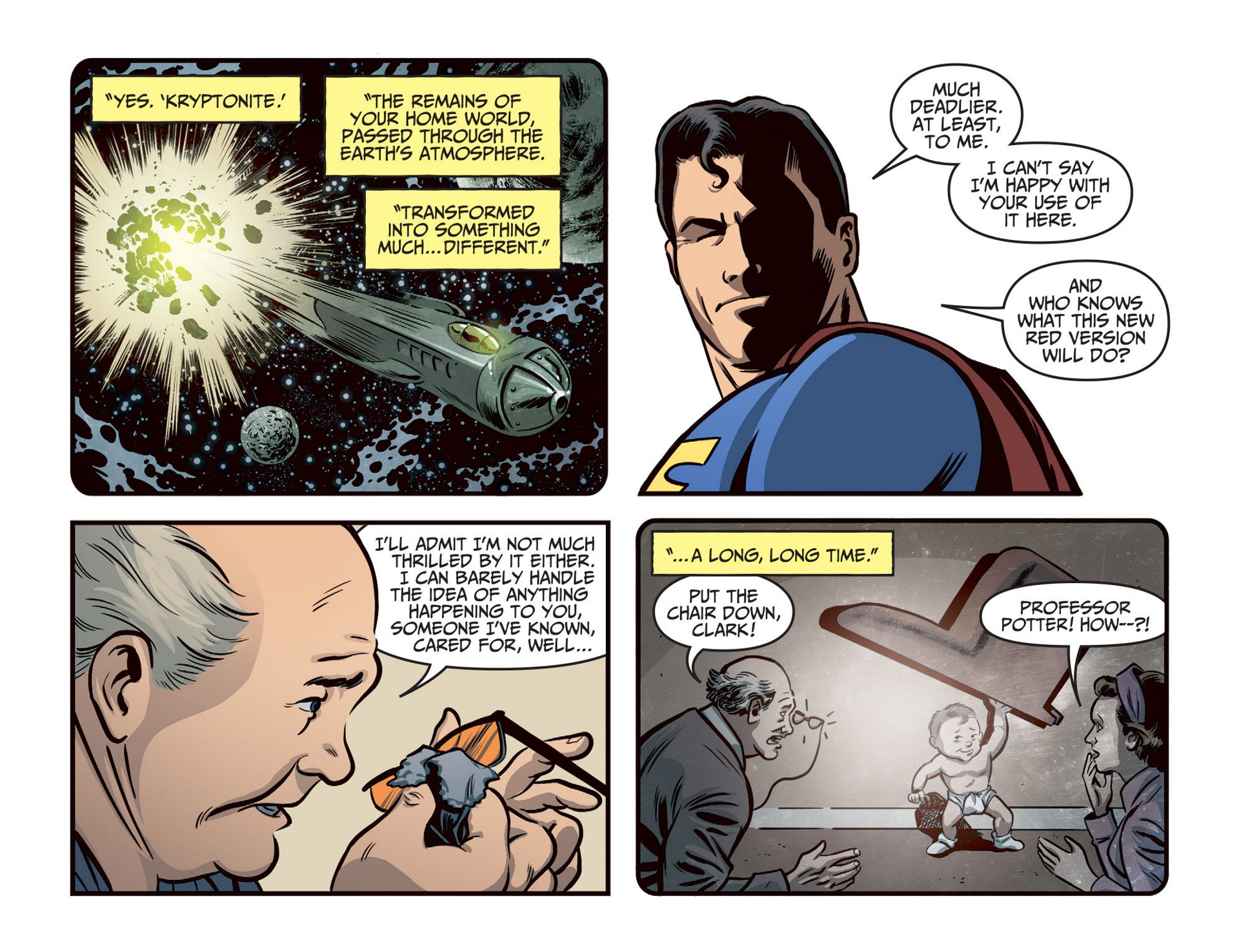 Read online Adventures of Superman [I] comic -  Issue #46 - 11