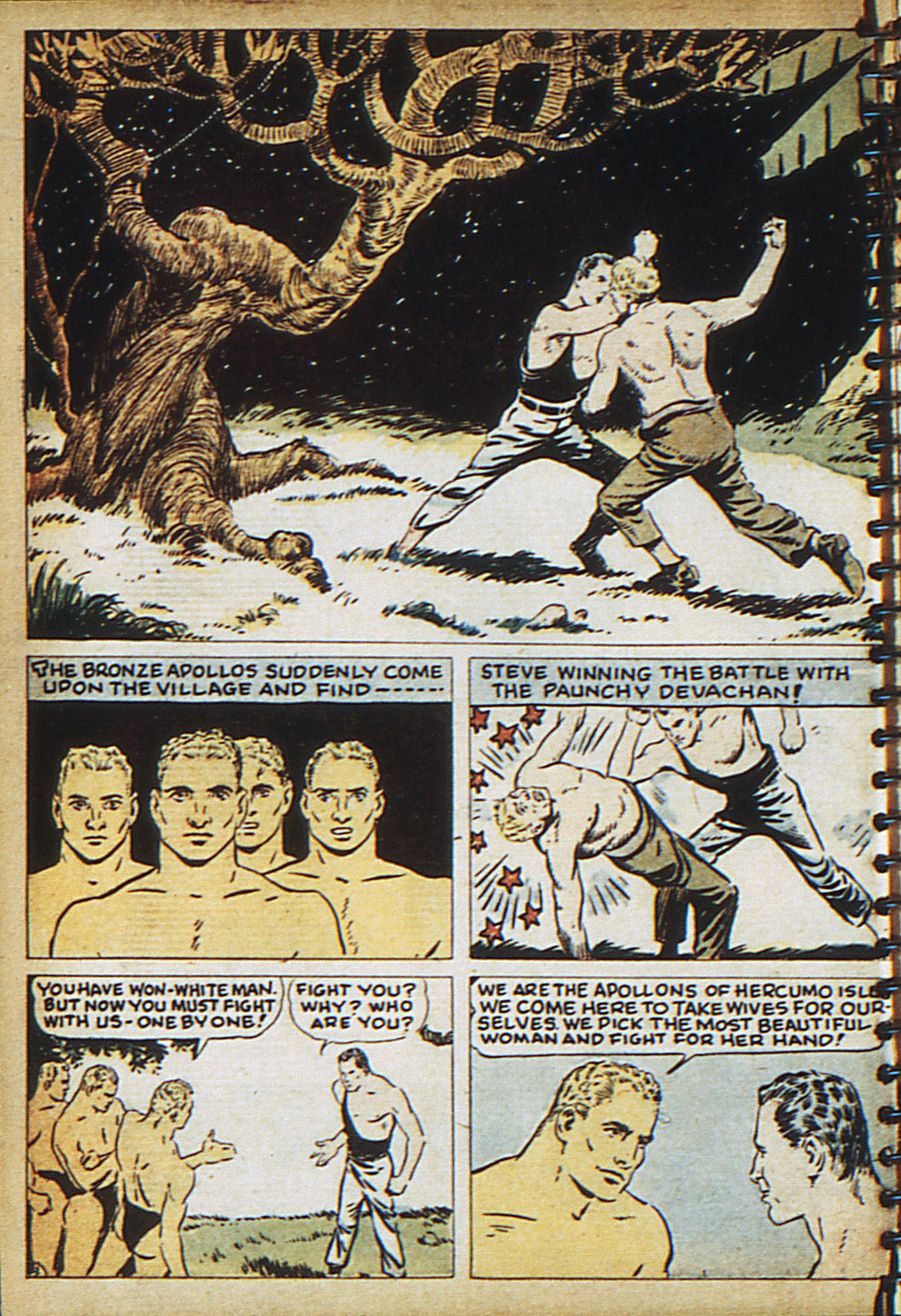 Read online Adventure Comics (1938) comic -  Issue #18 - 19