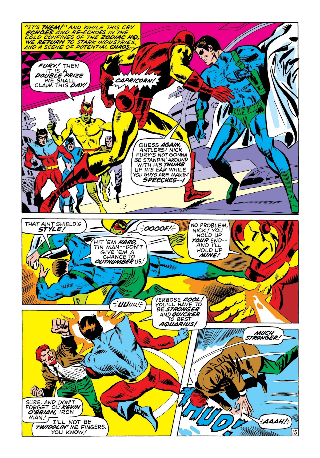 Read online Marvel Masterworks: The Invincible Iron Man comic -  Issue # TPB 7 (Part 3) - 3