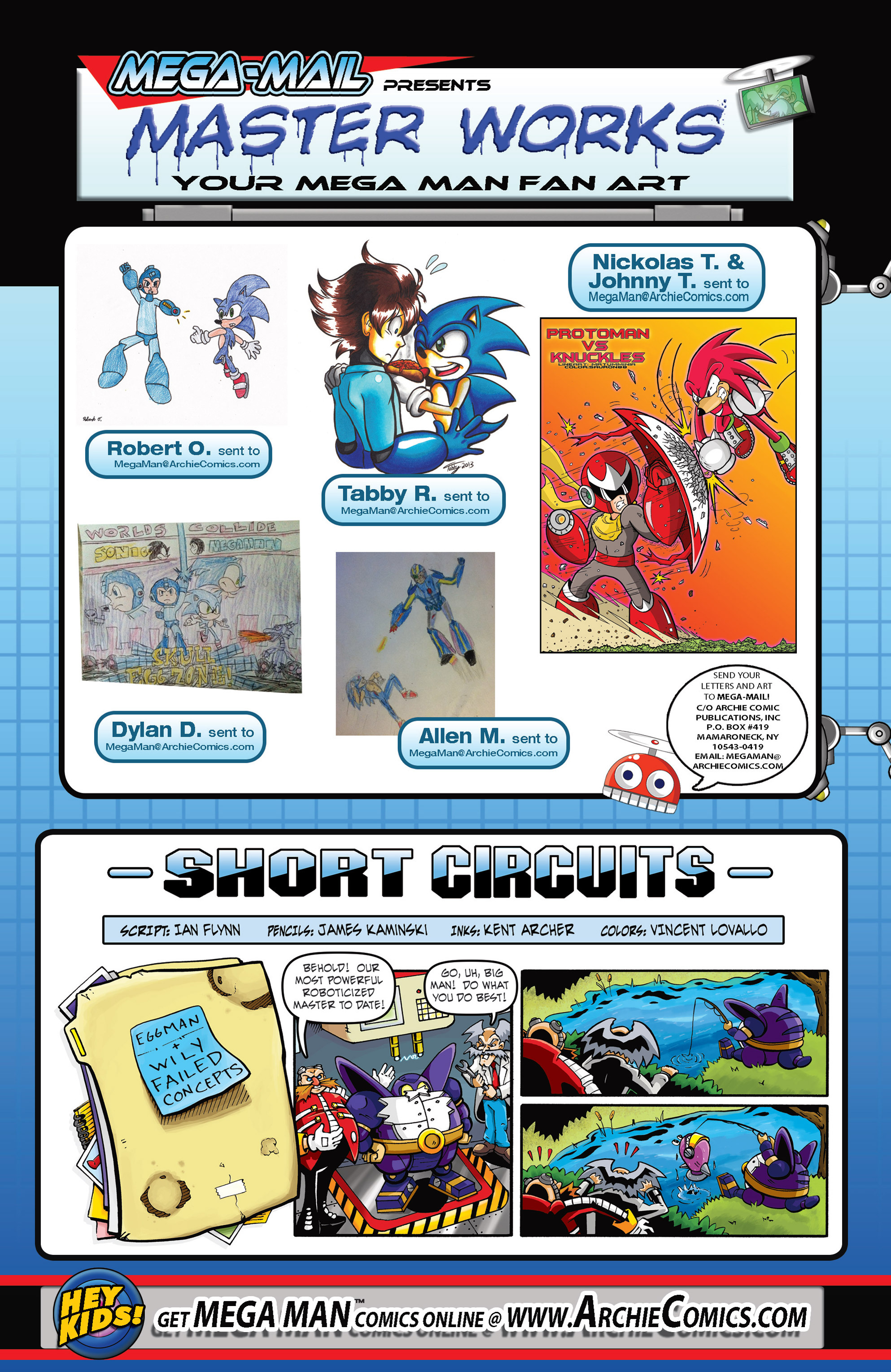 Read online Sonic Mega Man Worlds Collide comic -  Issue # Vol 3 - 69