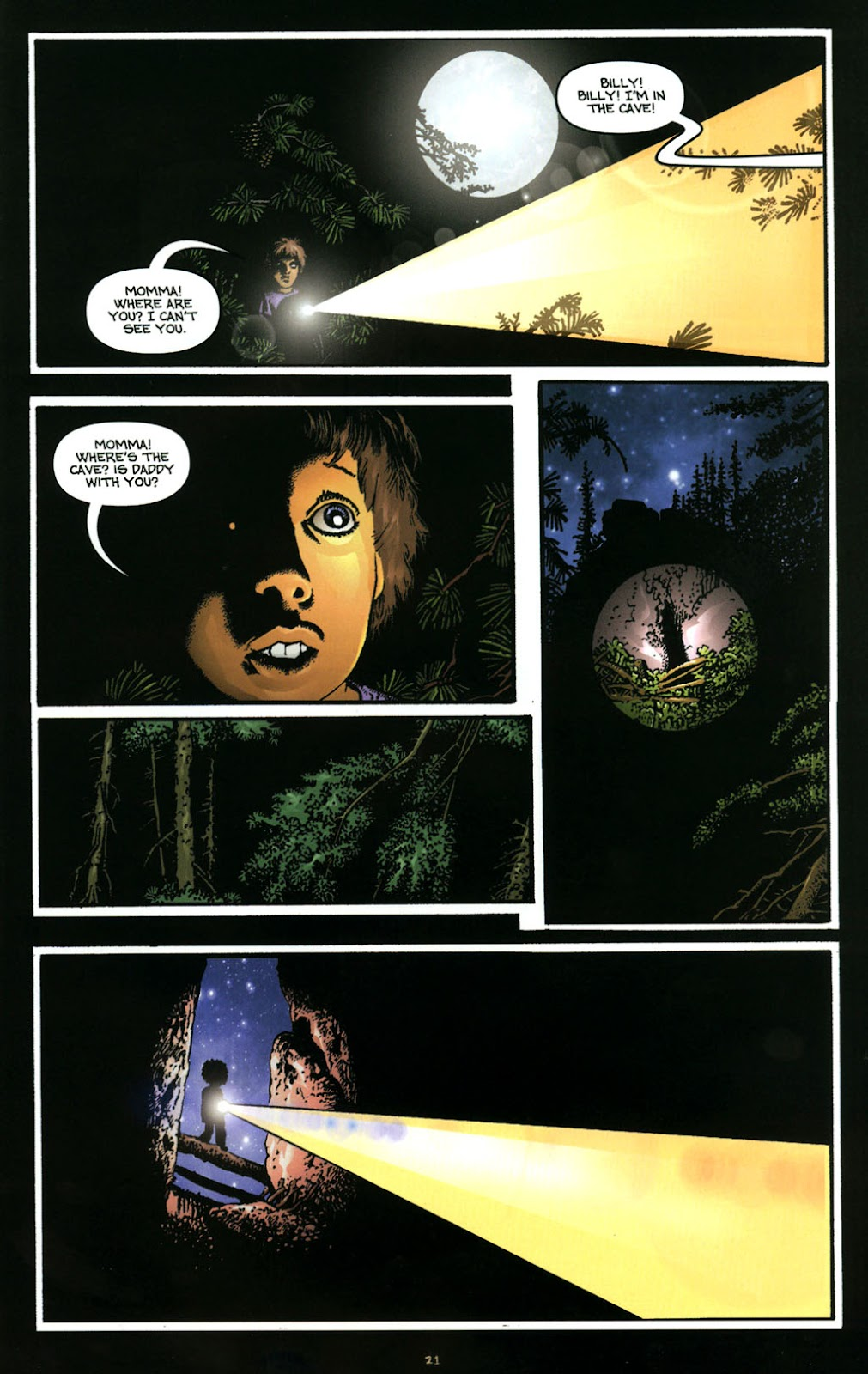 Bigfoot issue 1 - Page 22