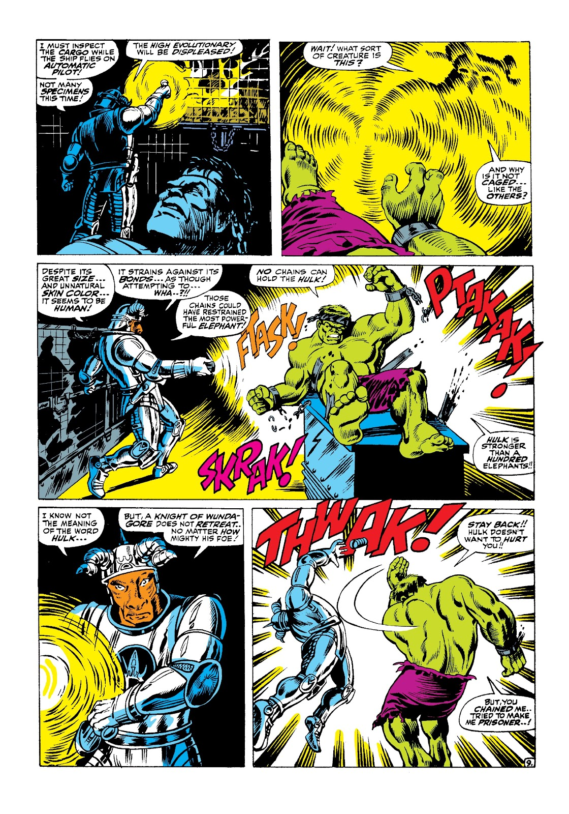 Read online Marvel Masterworks: The Incredible Hulk comic -  Issue # TPB 3 (Part 2) - 70