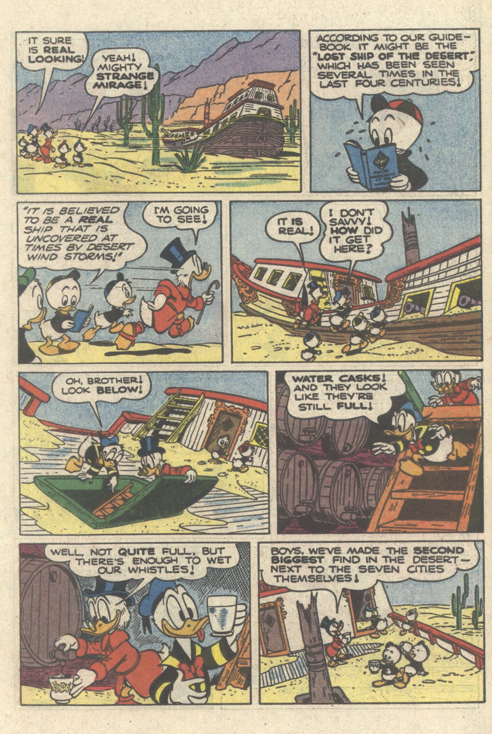 Read online Uncle Scrooge (1953) comic -  Issue #217 - 23