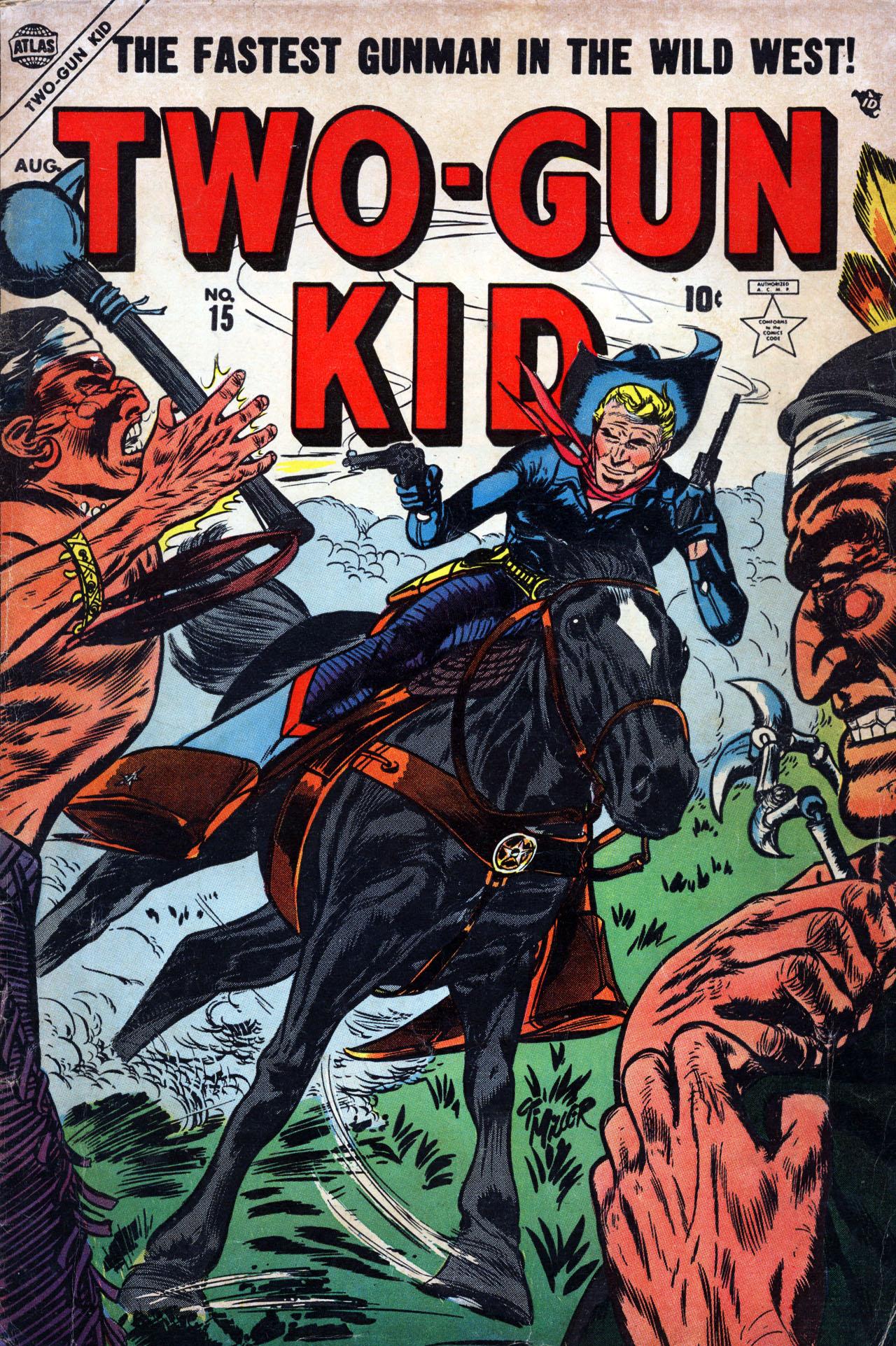 Read online Two-Gun Kid comic -  Issue #15 - 1
