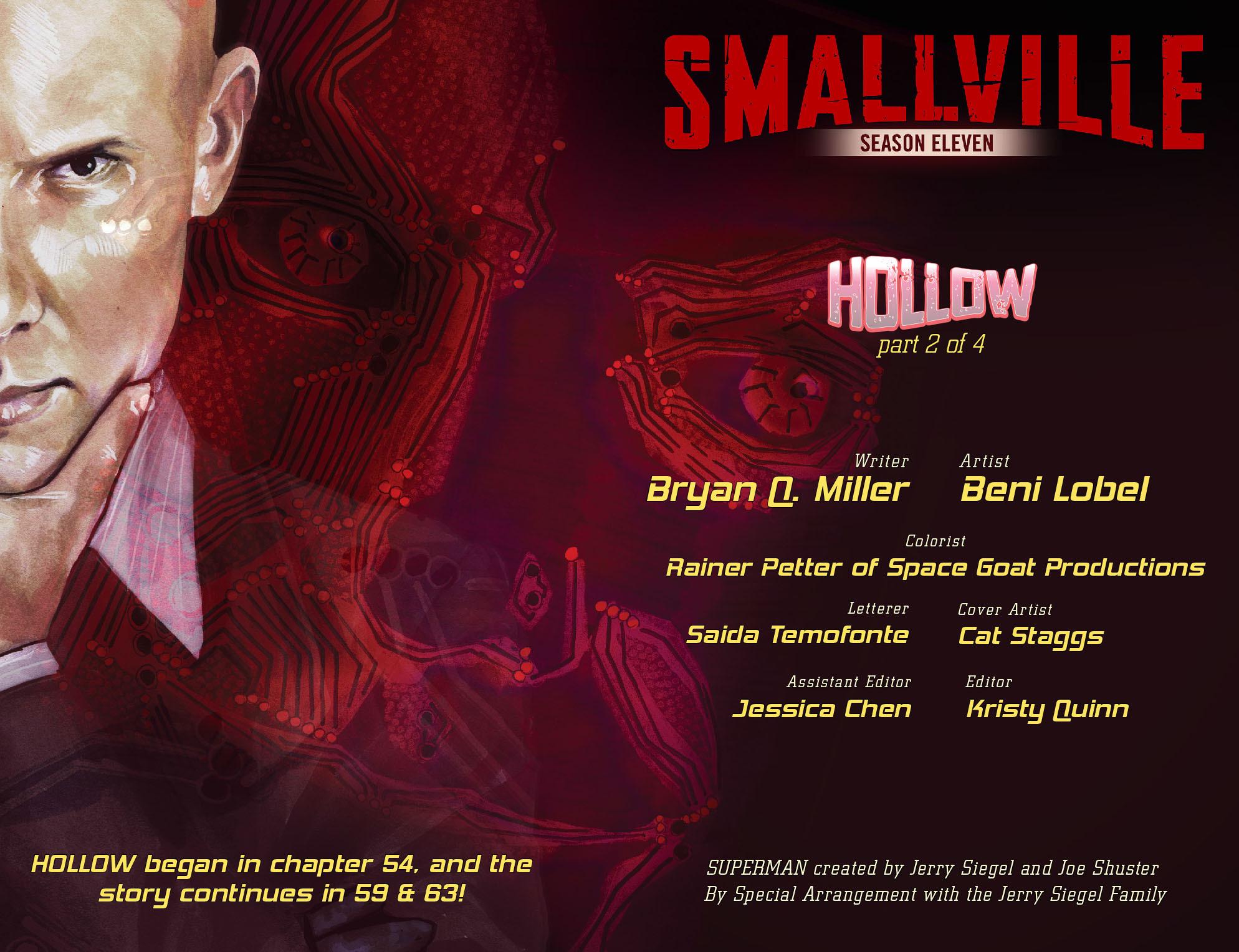 Read online Smallville: Season 11 comic -  Issue #55 - 2