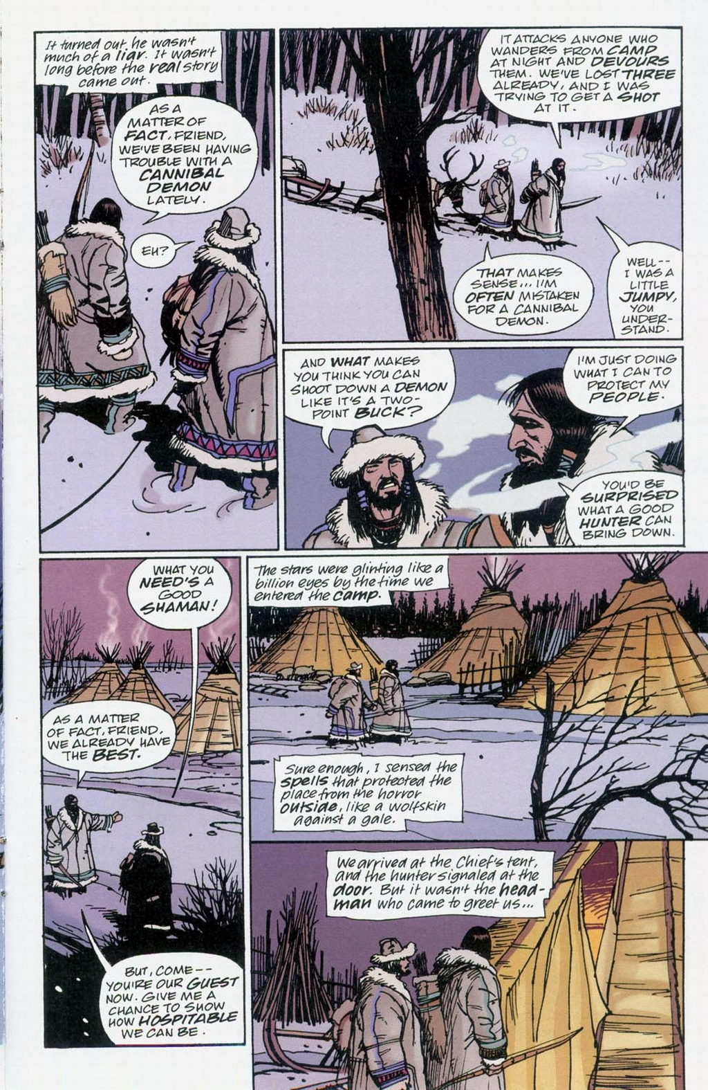 Muktuk Wolfsbreath: Hard-Boiled Shaman issue 1 - Page 9