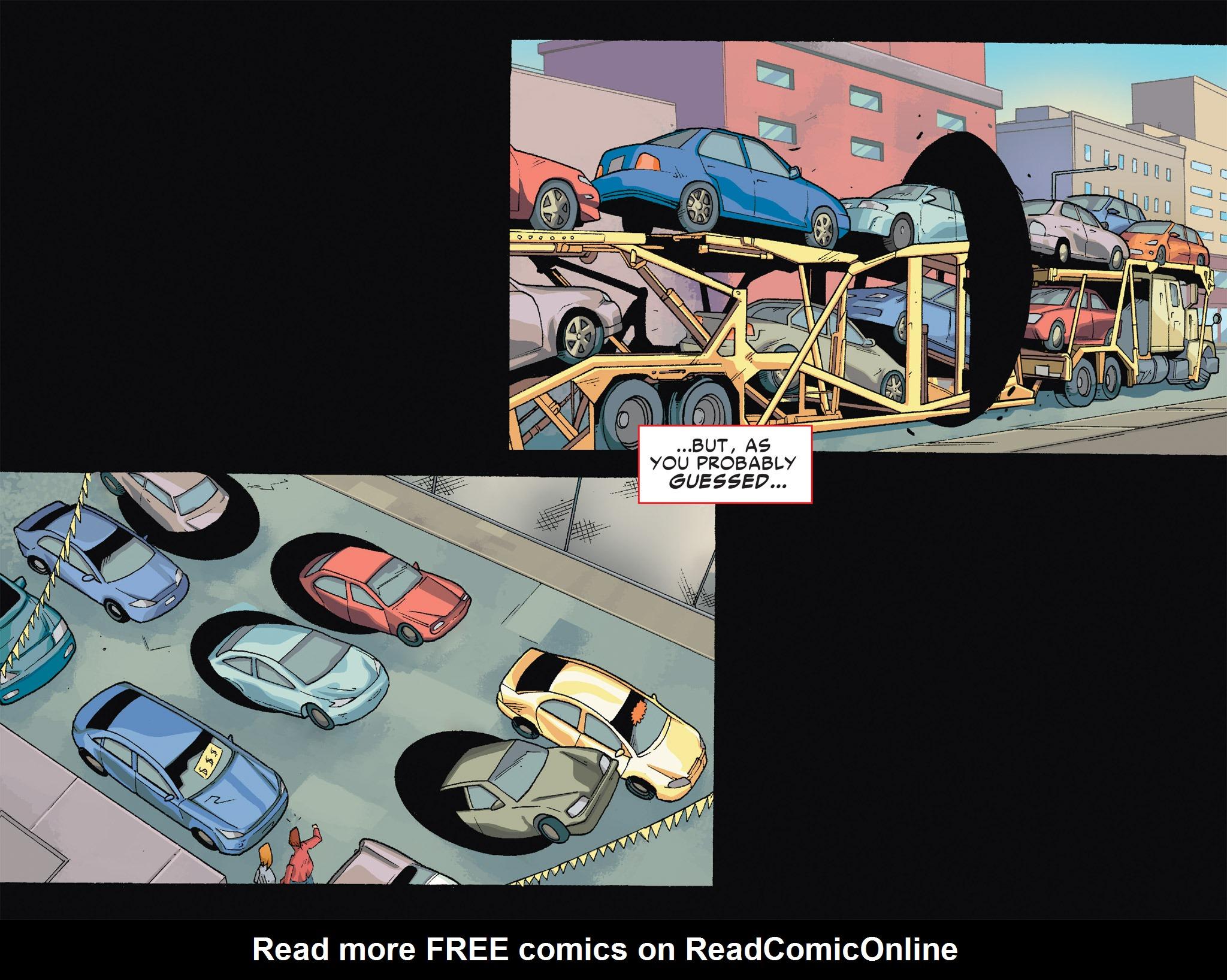 Read online Ultimate Spider-Man (Infinite Comics) (2016) comic -  Issue #6 - 16