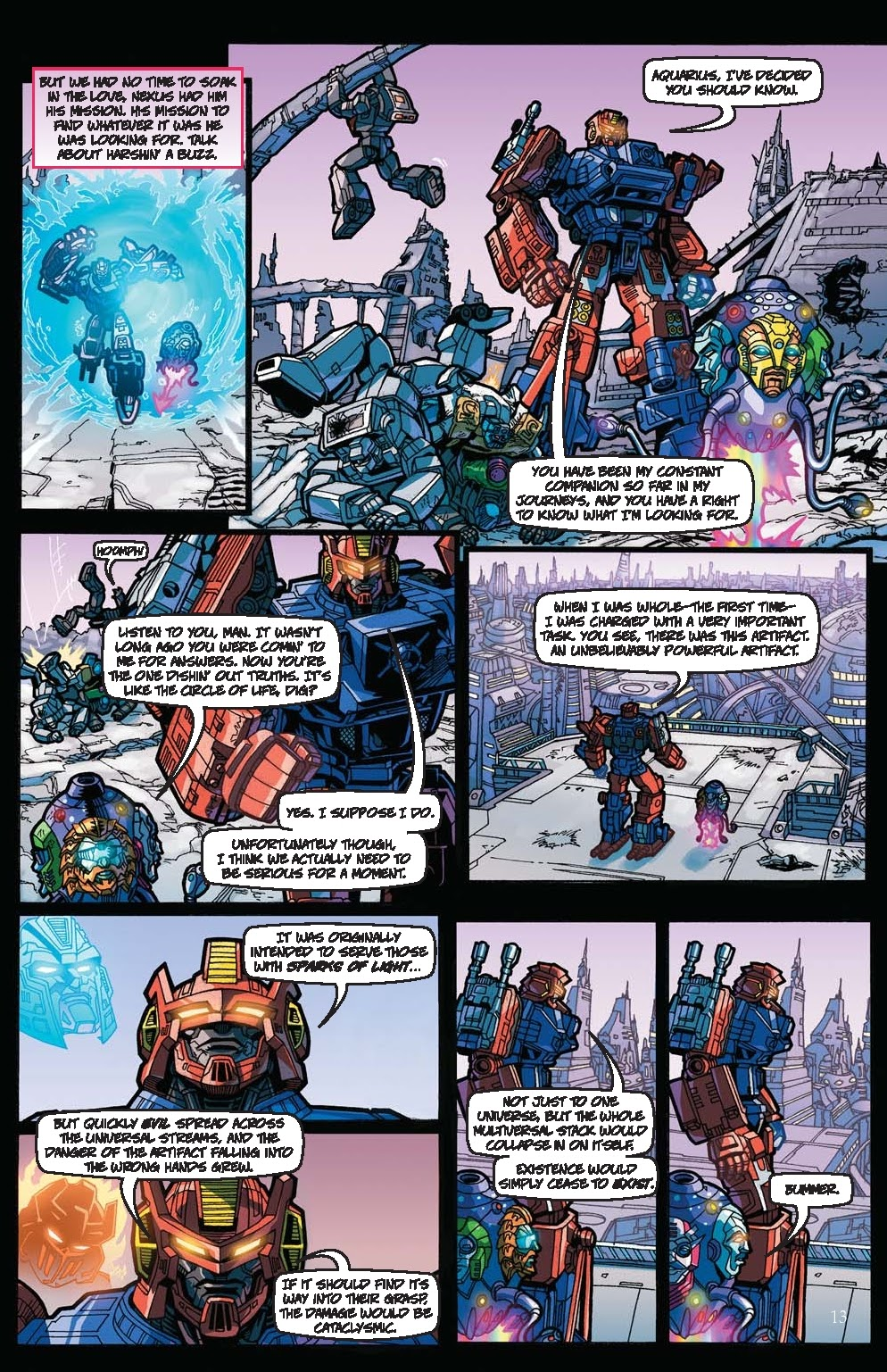 Read online Transformers: Collectors' Club comic -  Issue #31 - 13