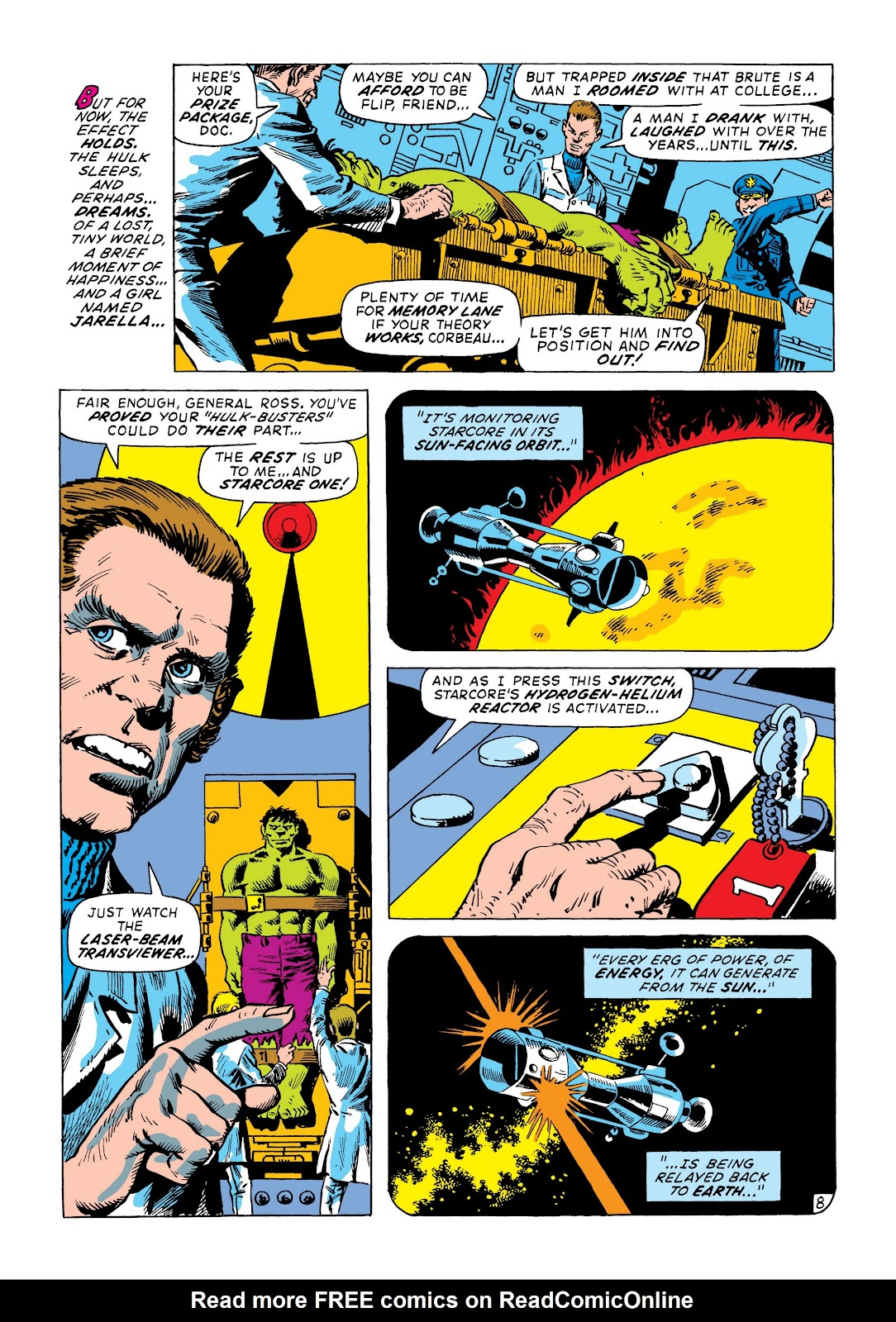 Read online Marvel Masterworks: The Incredible Hulk comic -  Issue # TPB 8 (Part 1) - 93