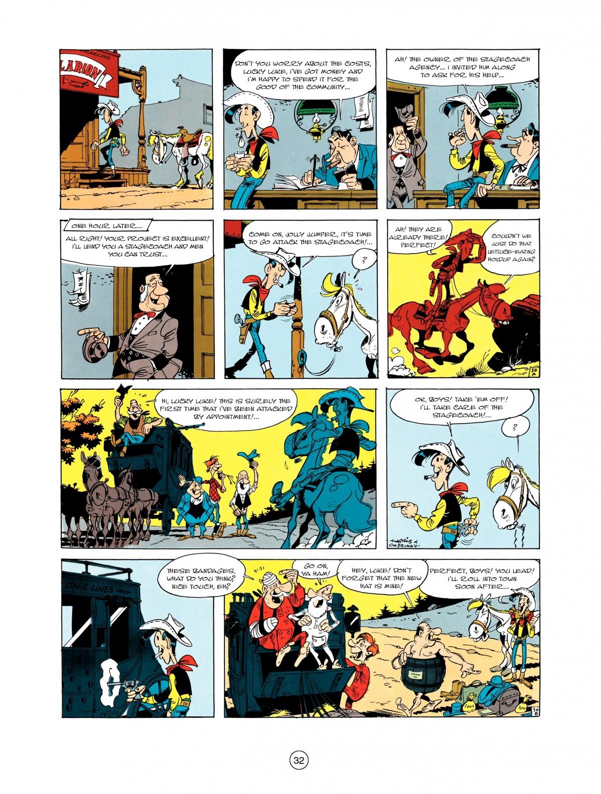Read online A Lucky Luke Adventure comic -  Issue #1 - 34