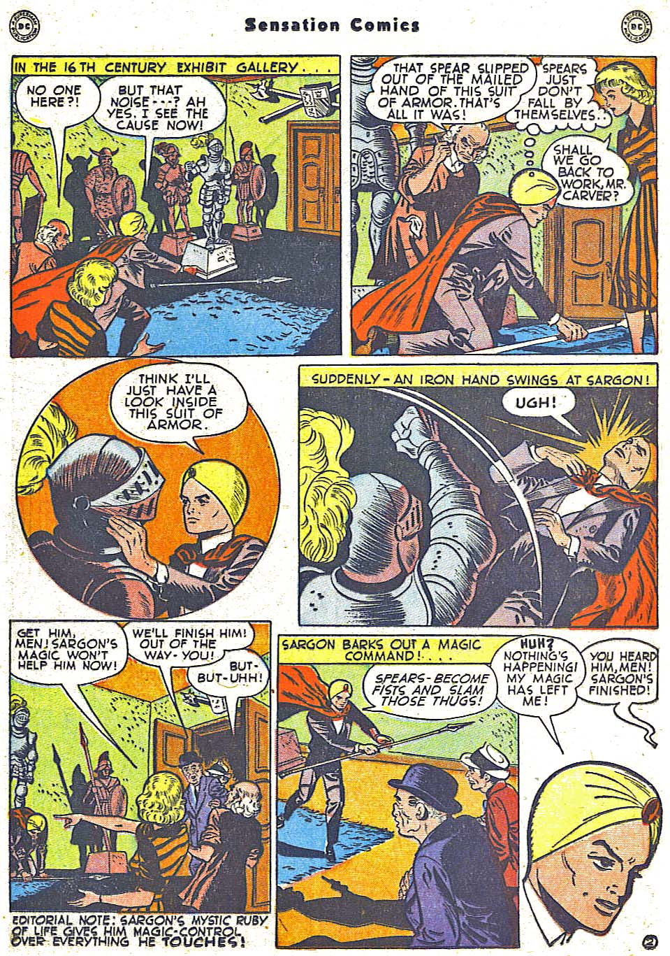 Read online Sensation (Mystery) Comics comic -  Issue #79 - 25
