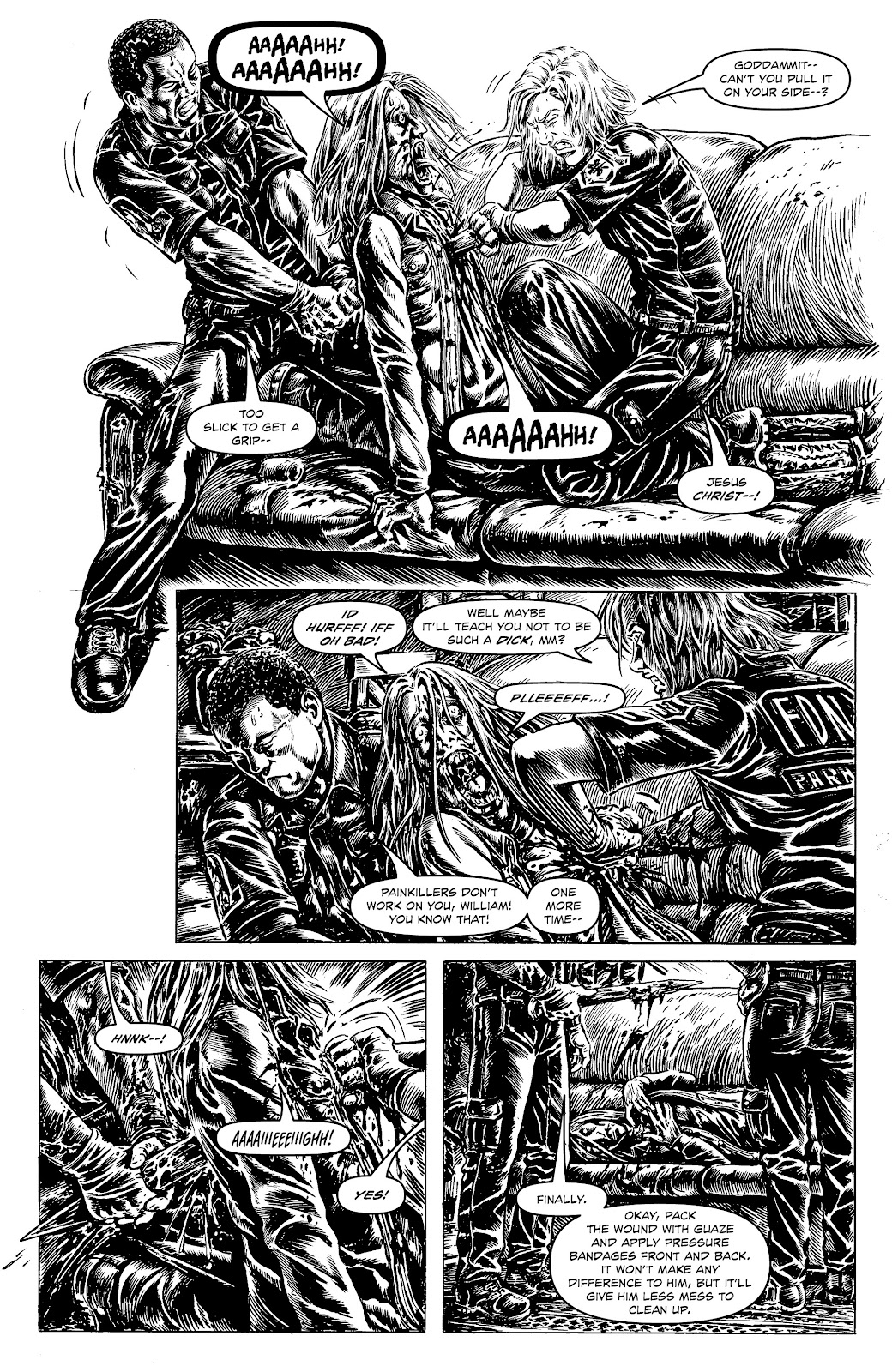 Read online Alan Moore's Cinema Purgatorio comic -  Issue #18 - 18