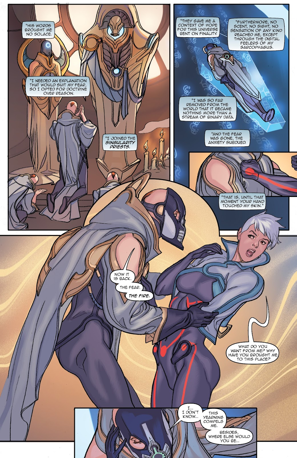 Read online Lightstep comic -  Issue #3 - 18